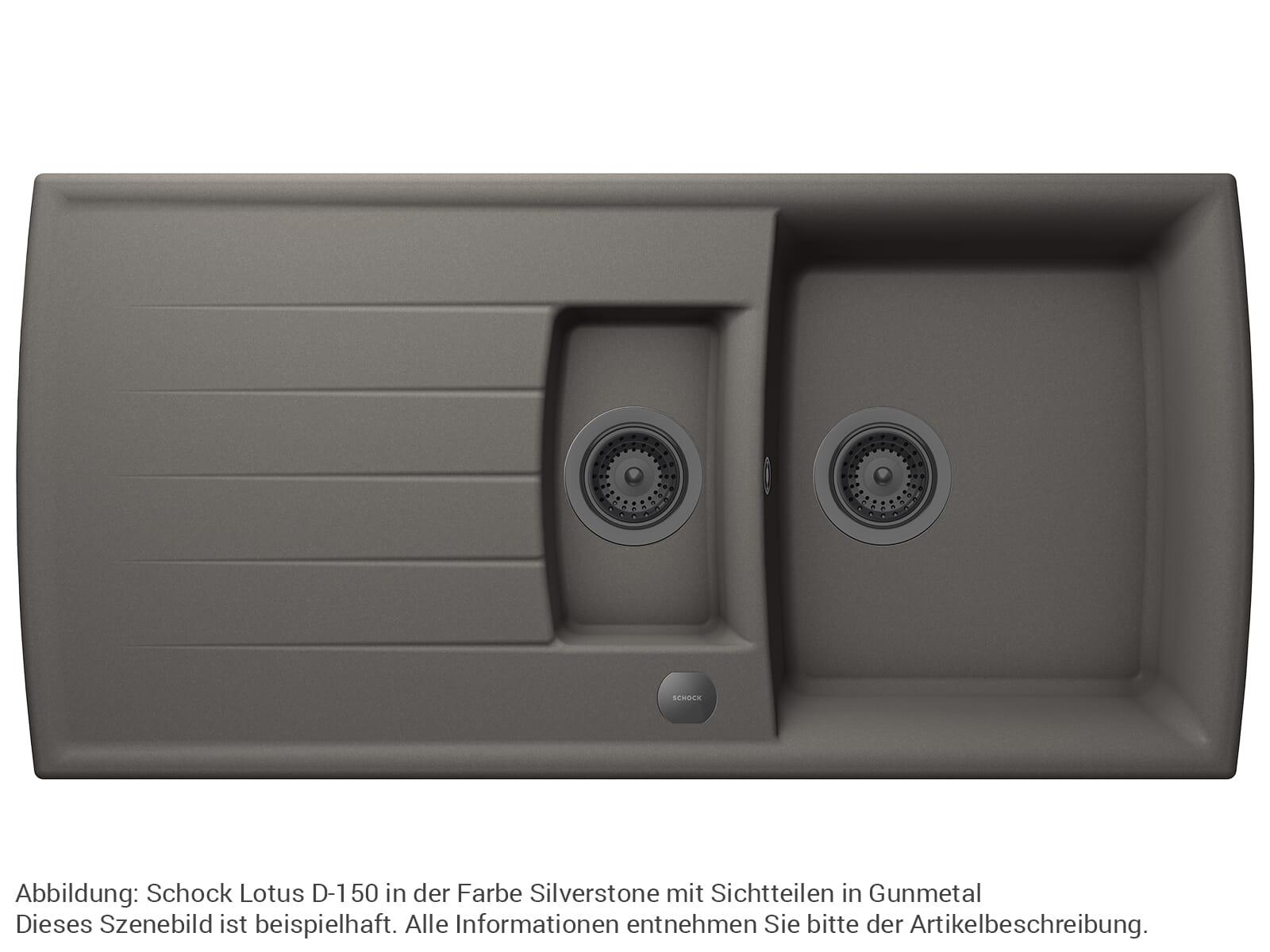 Schock 629305GUM - Sichtteile Gunmetal