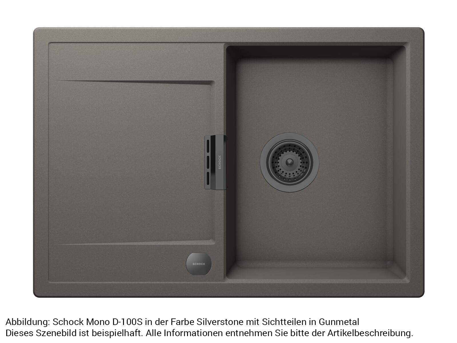 Schock 629385GUM - Sichtteile Gunmetal