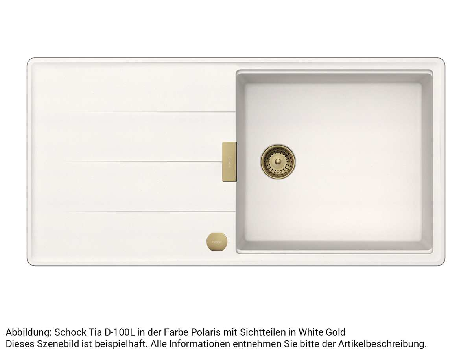 Schock 629675WGO - Sichtteile White Gold