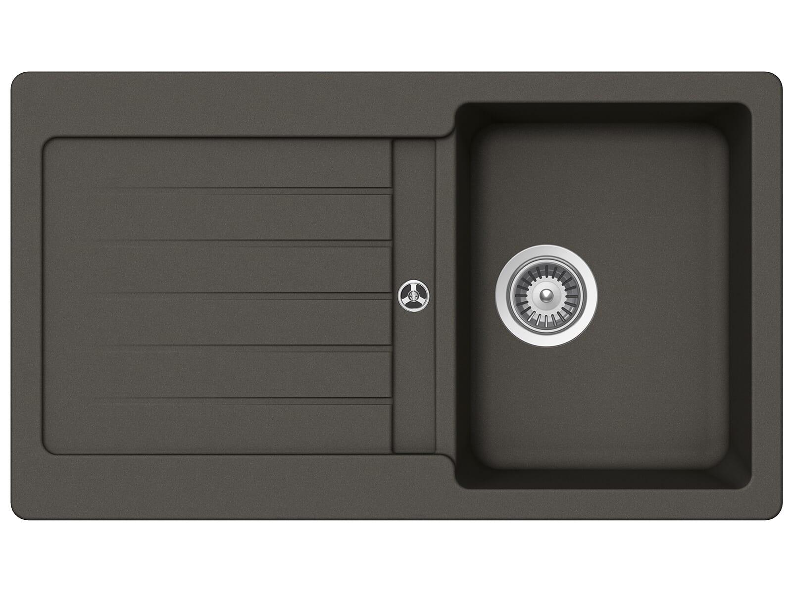 Schock Typos D-100 A Asphalt - TYPD100AGAS Granitspüle