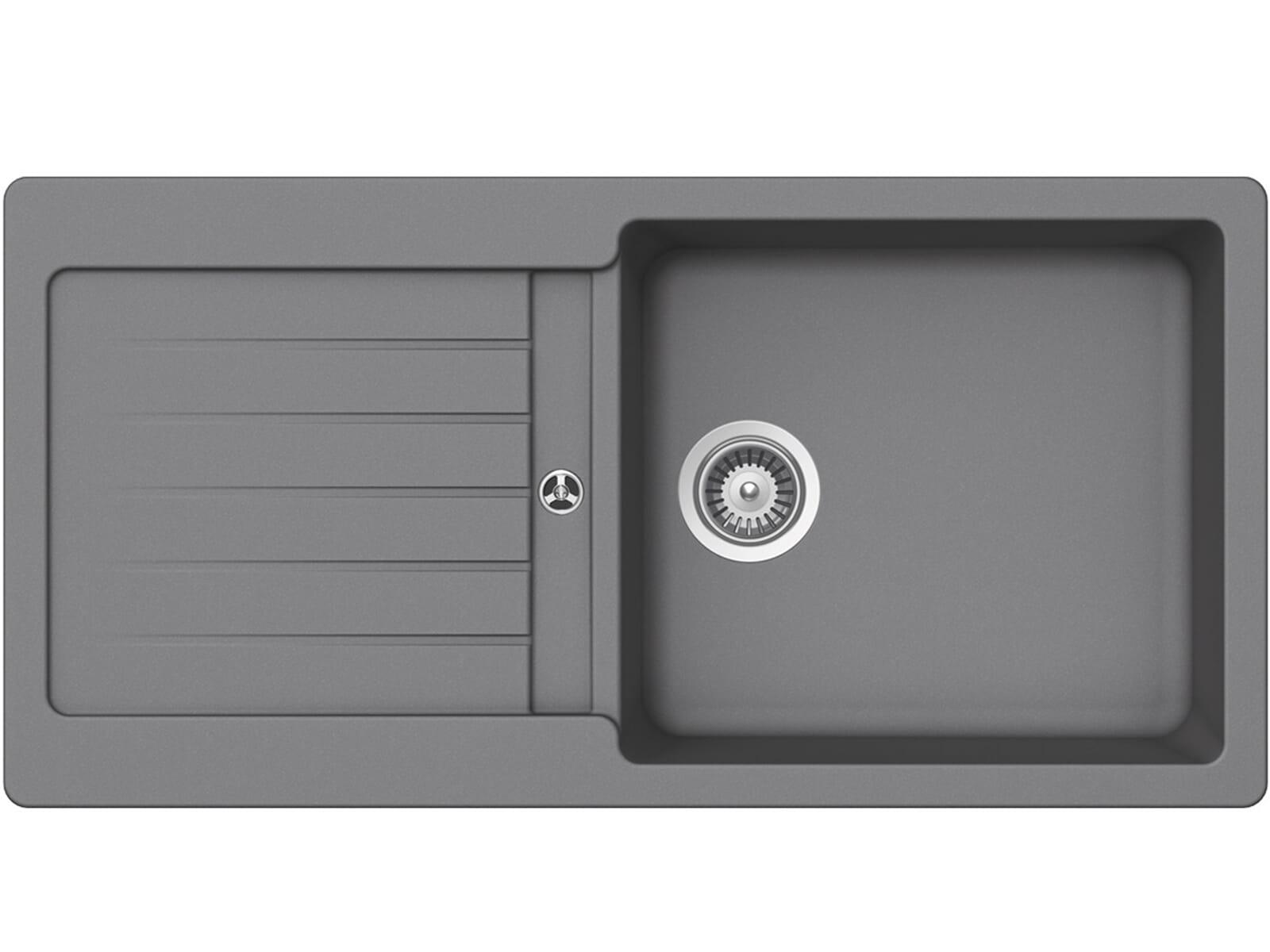 Produktabbildung Schock Typos D-100L A Croma - TYPD100LAGCR Granitspüle