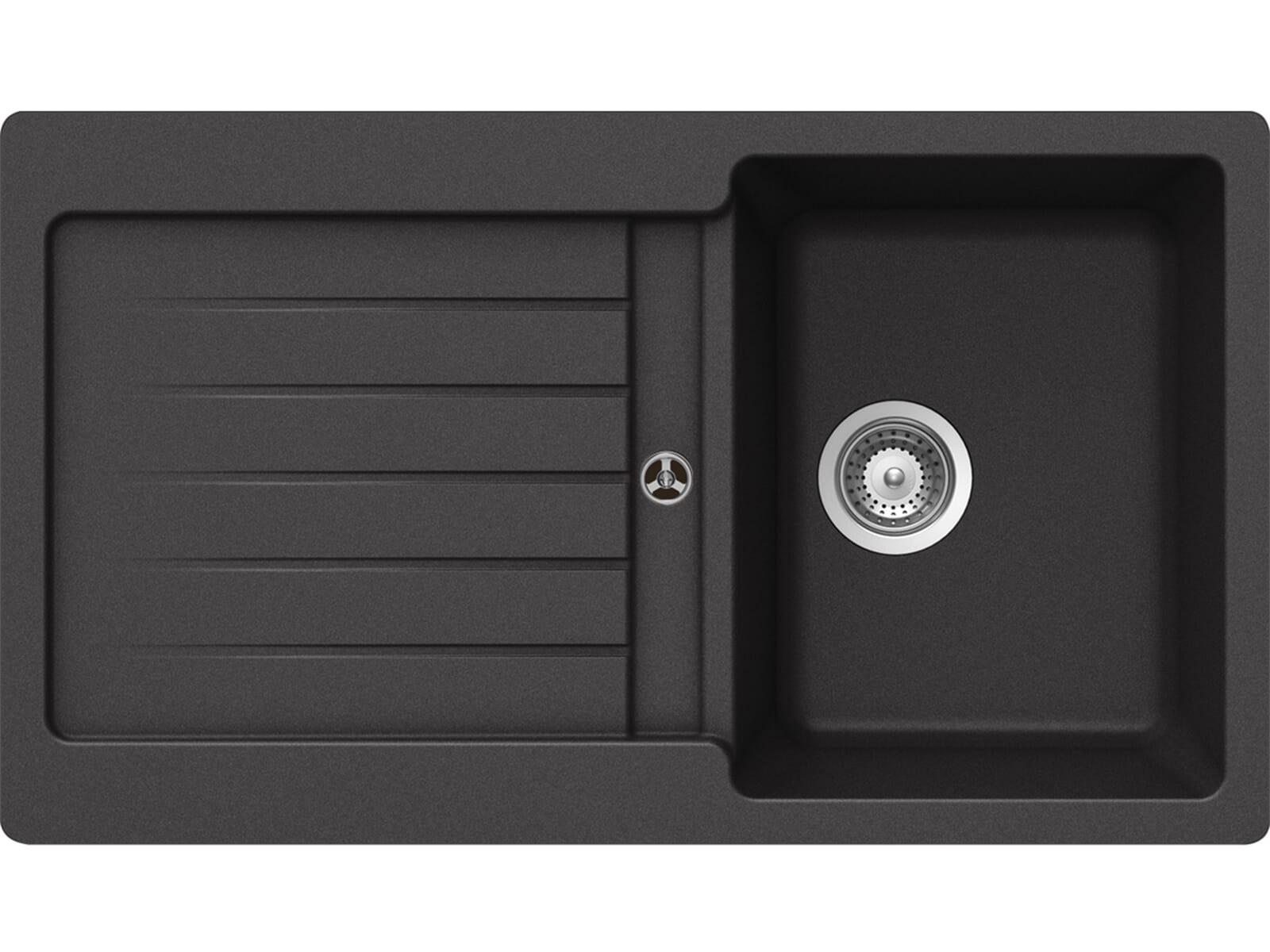 Schock Typos D-100 A Nero - TYPD100AGNE Granitspüle