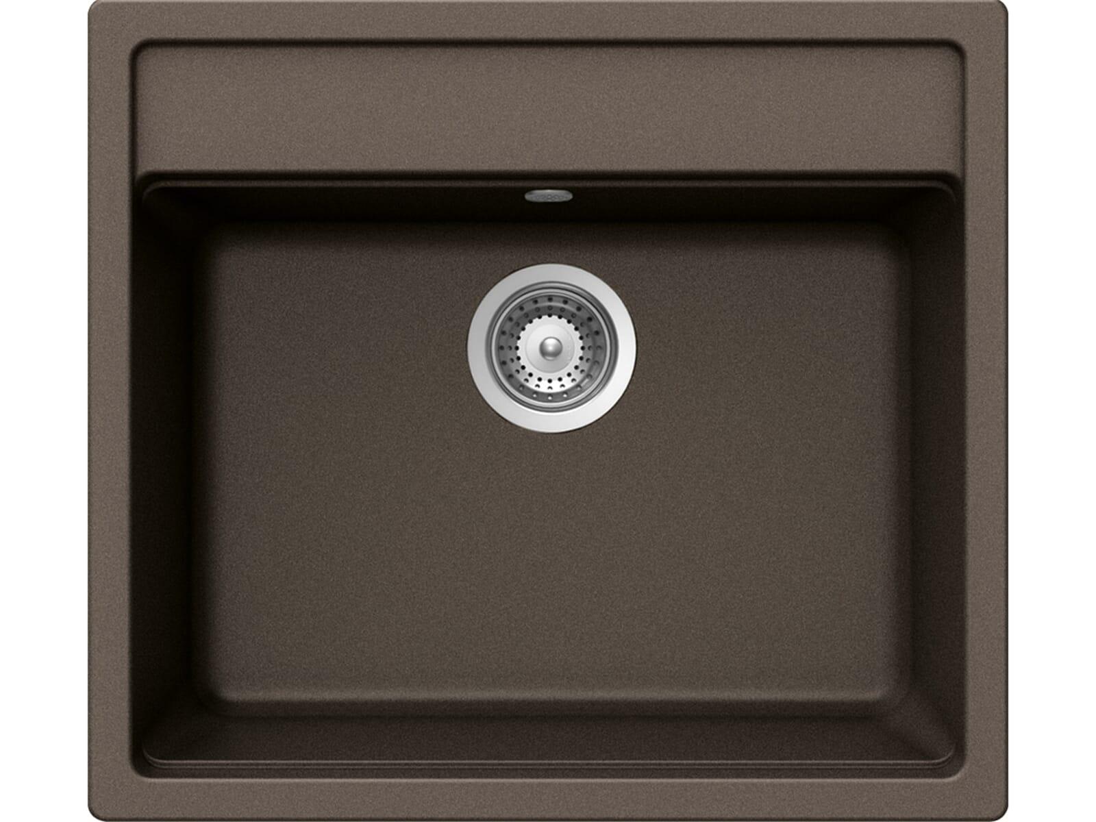 Schock Mono N-100 U Bronze Granitspüle
