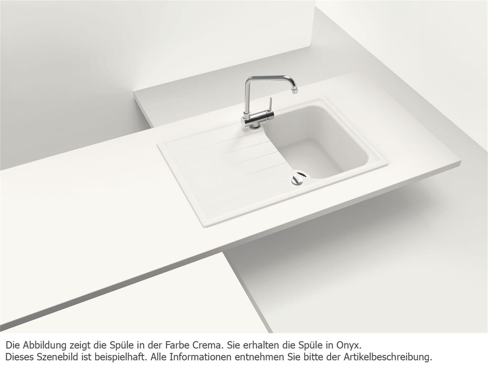 Schock Viola D-100 S A Onyx Granitspüle