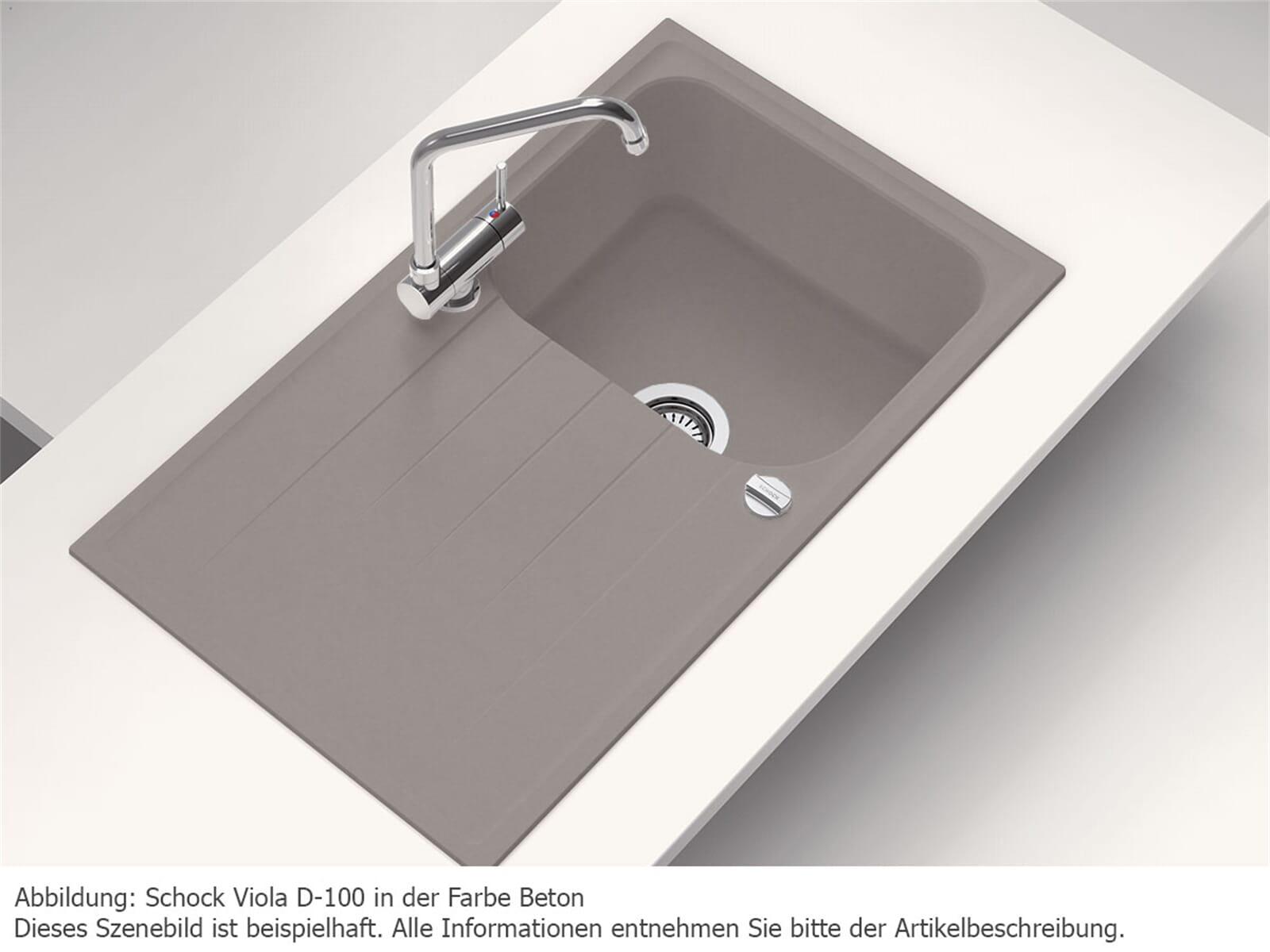 Schock Viola D-100 A Croma Granitspüle
