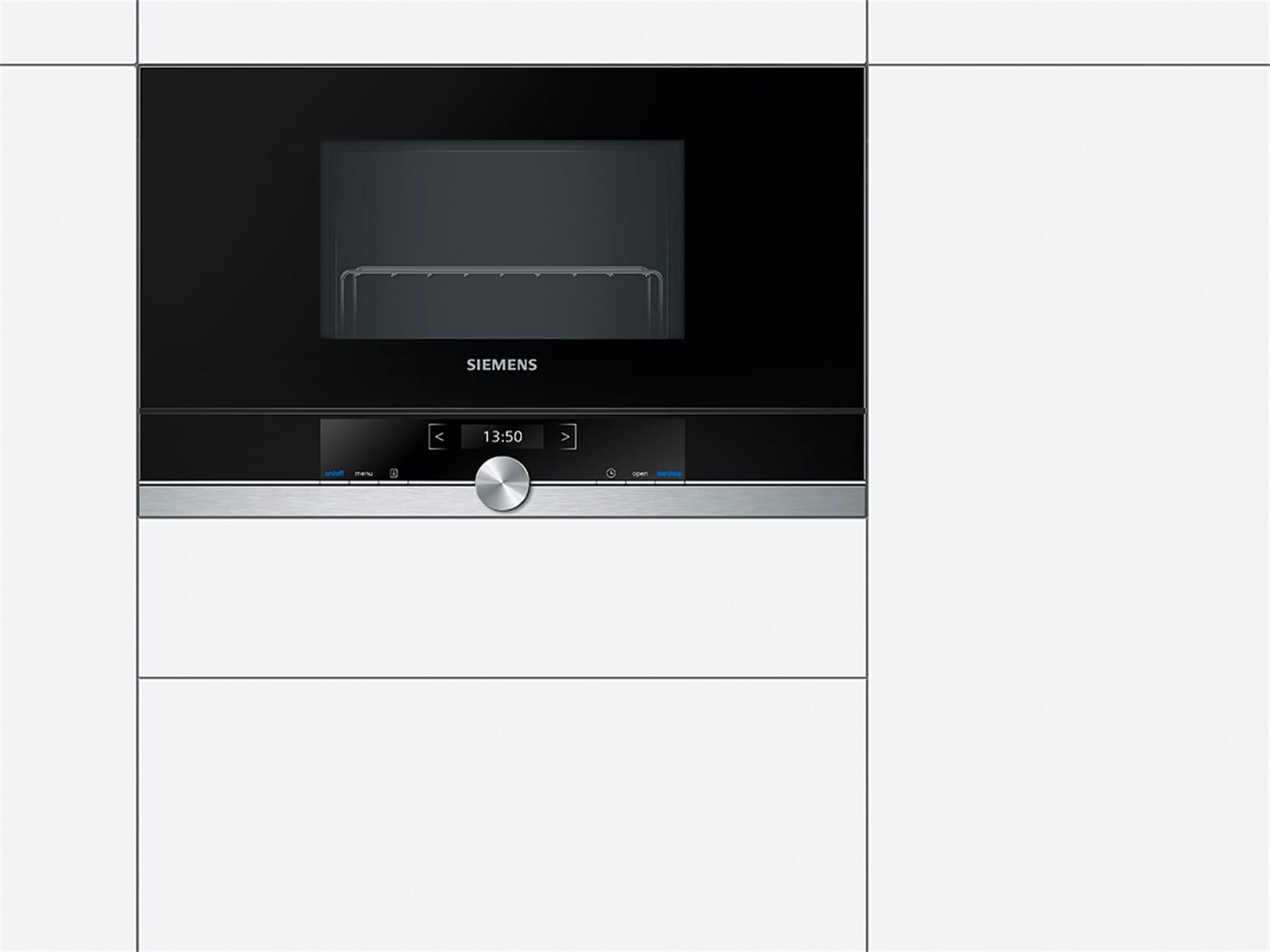 Siemens BE634LGS1 Einbau-Mikrowelle Edelstahl