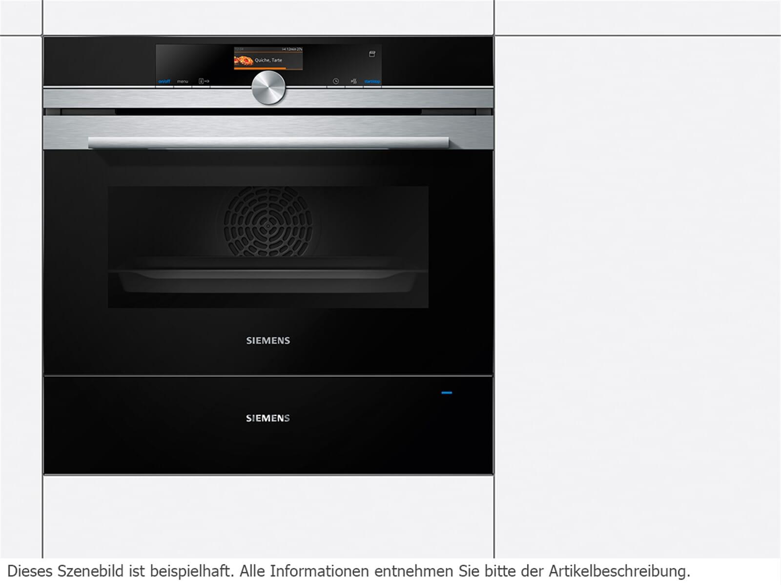 Siemens BI630CNS1 Wärmeschublade schwarz