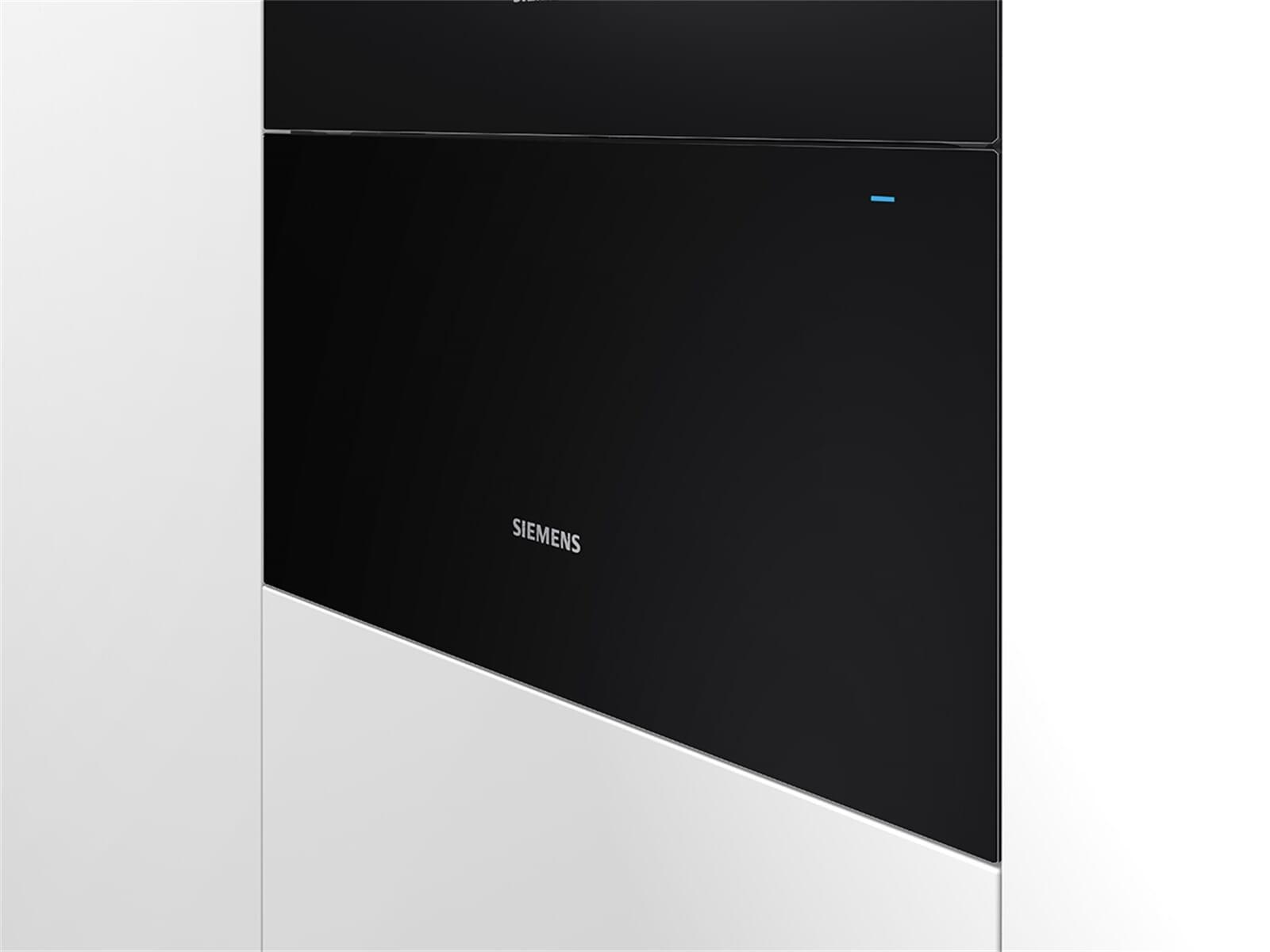 Siemens BI630DNS1 Wärmeschublade Schwarz