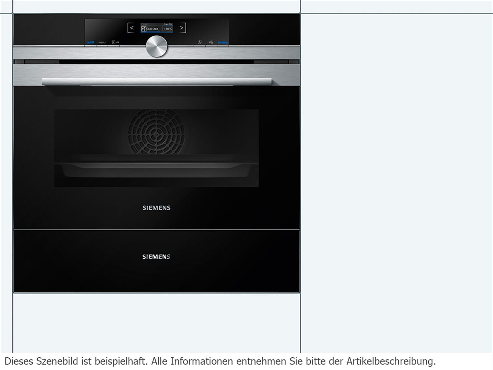 Siemens BI630ENS1 Zubehörschublade Schwarz