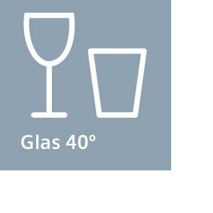 Funktion – Glas 40