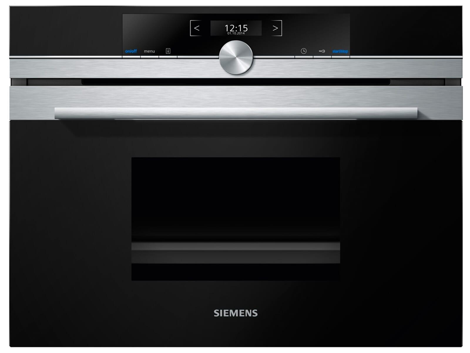 Siemens Cd634gbs1 Kompakt Dampfgarer Edelstahl
