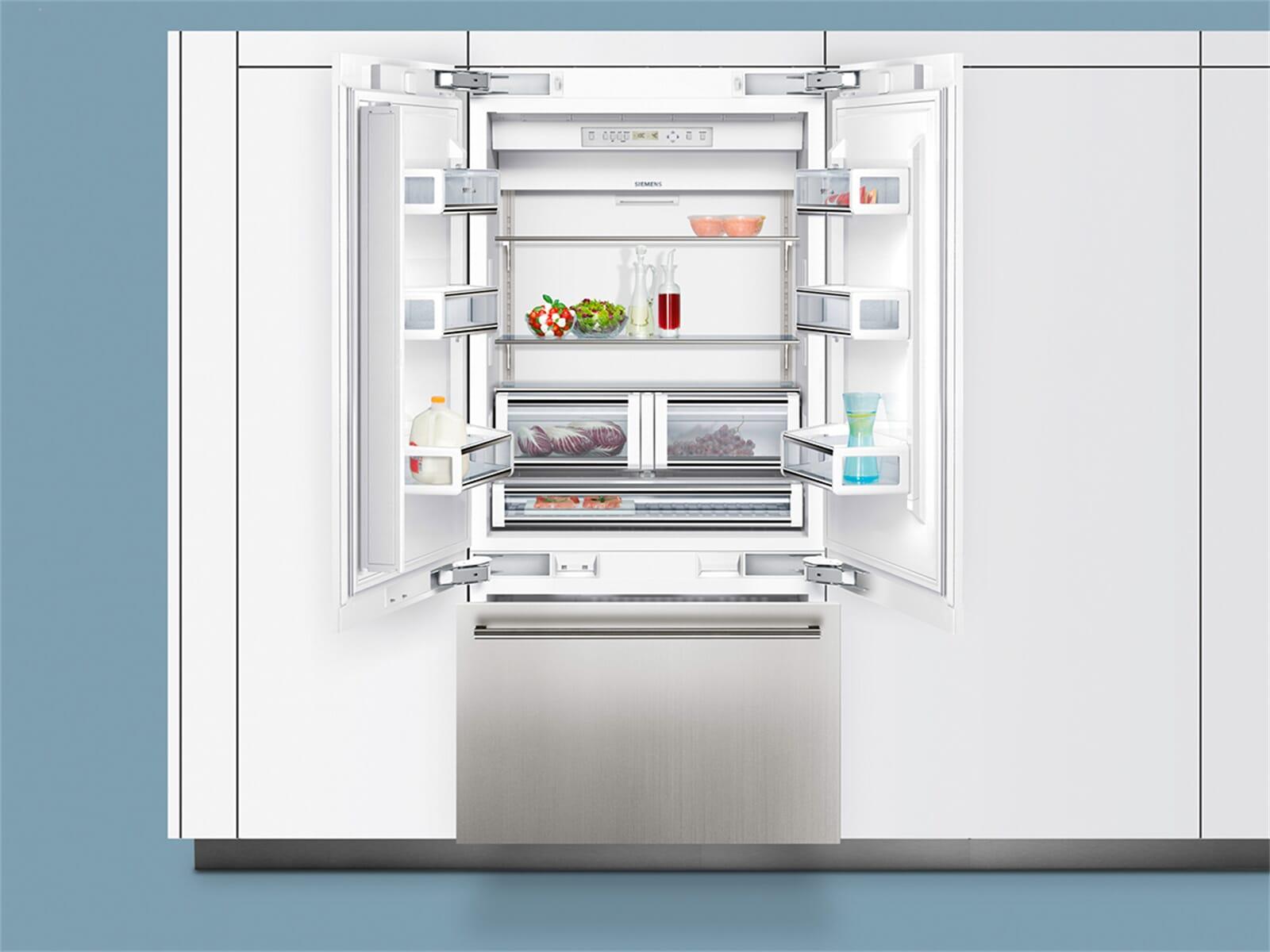 Smeg Kühlschrank French Door : Siemens studioline ci bp french door einbau kühl gefrierkombination