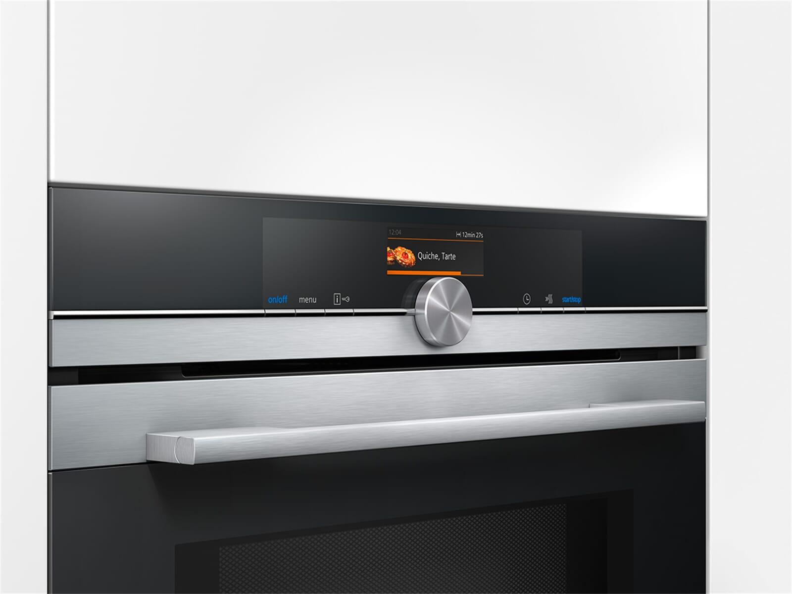 siemens cm636gns1 kompakt backofen mit mikrowelle edelstahl. Black Bedroom Furniture Sets. Home Design Ideas