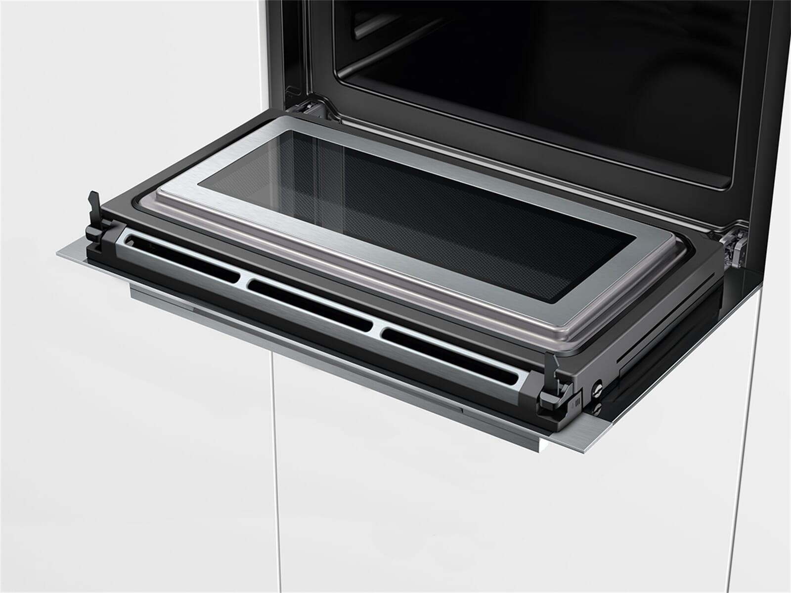 siemens cm638grs1 kompakt backofen mit mikrowelle edelstahl. Black Bedroom Furniture Sets. Home Design Ideas