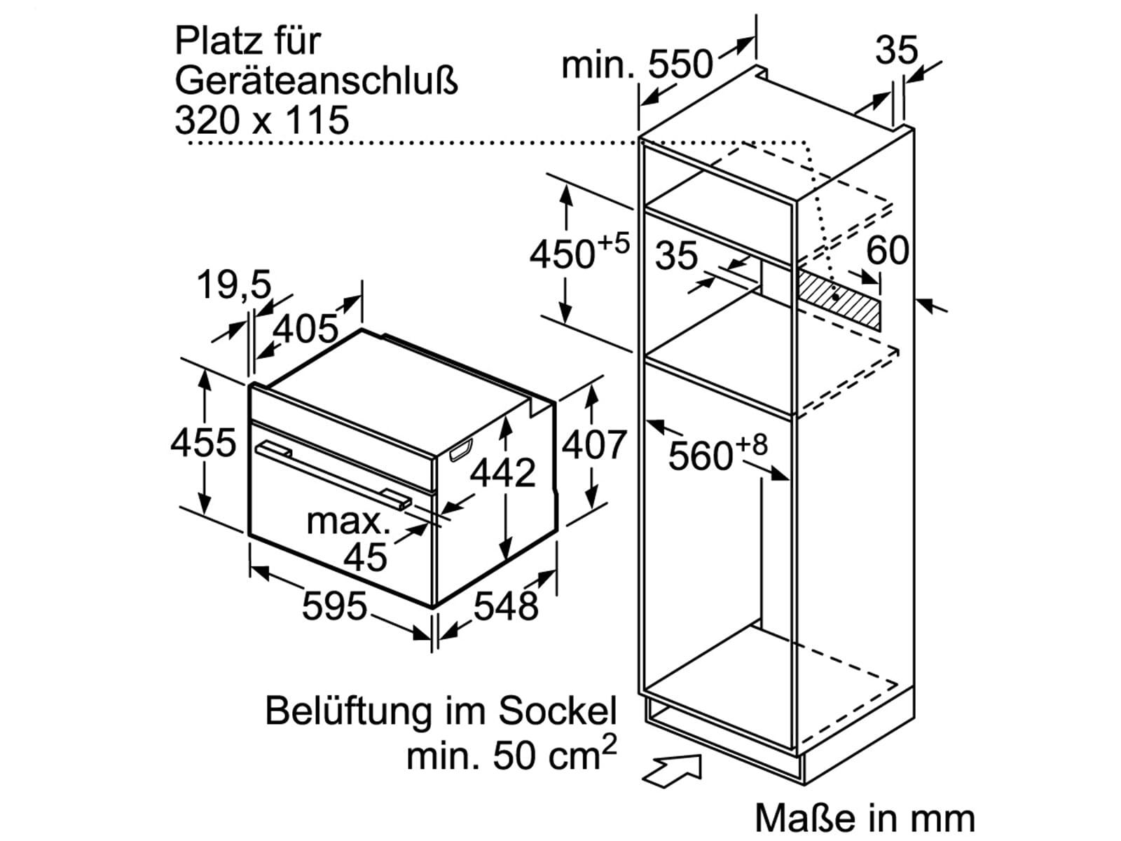 Siemens CM678G4W1 Kompakt Backofen mit Mikrowelle Weiß/Edelstahl