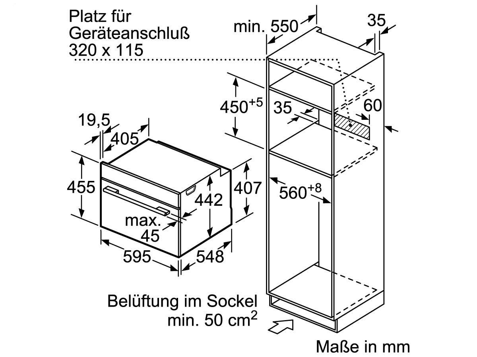 Siemens CB634GBS3 Kompakt Backofen Edelstahl