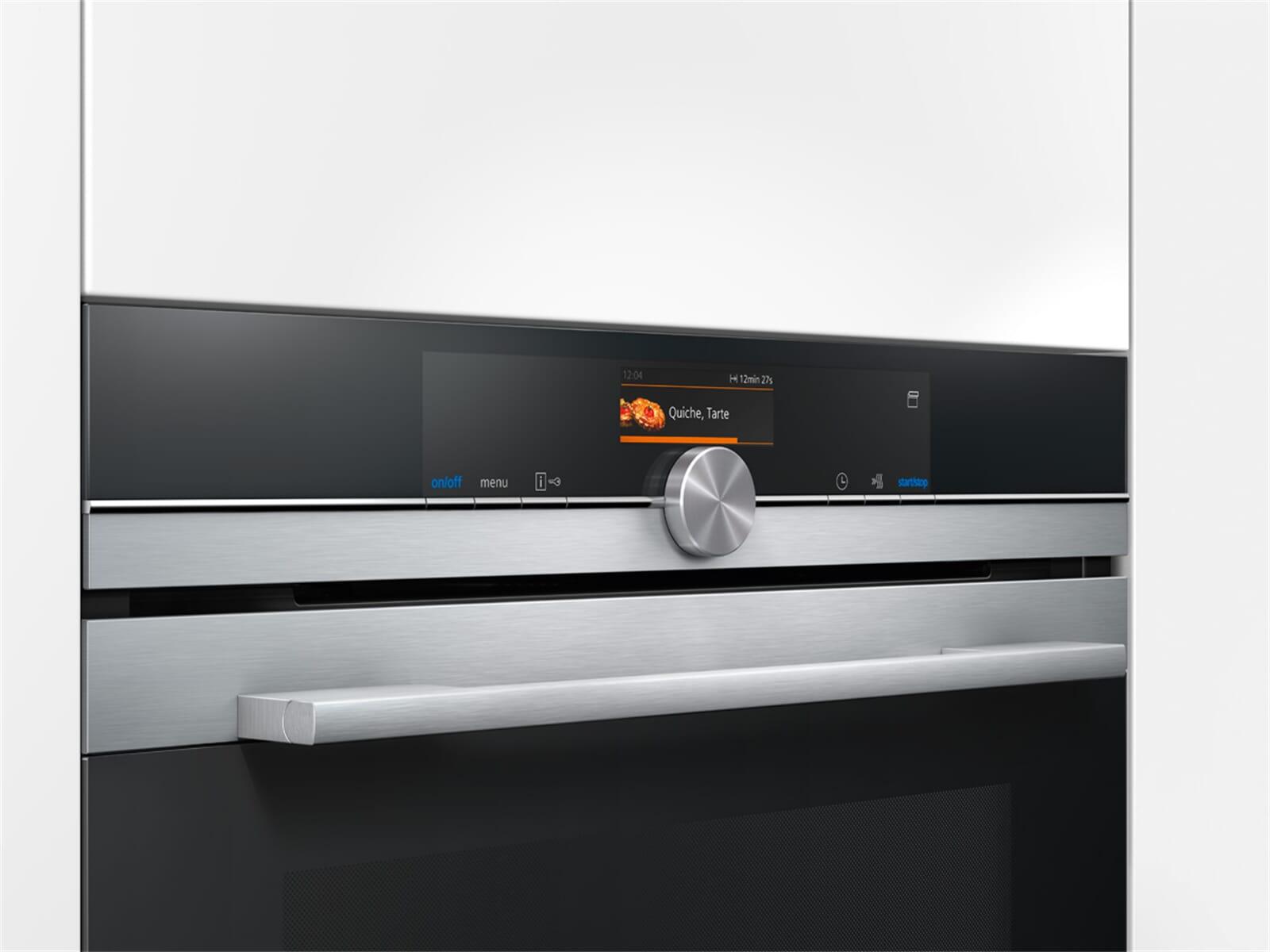 Siemens CS636GBS1 Kompakt Dampfbackofen Edelstahl
