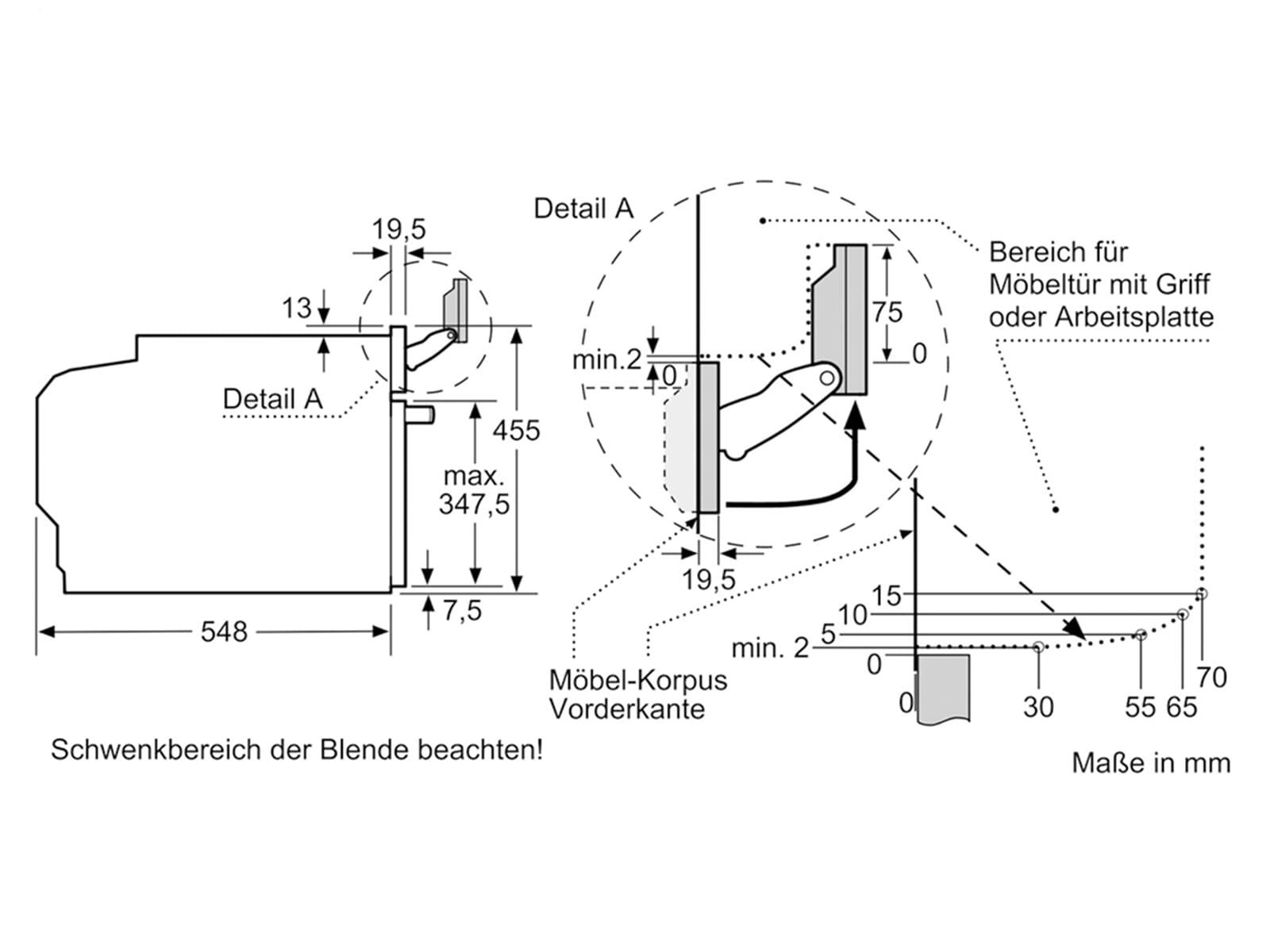 Siemens studioLine CS856GPB6 Kompaktdampfbackofen blackSteel