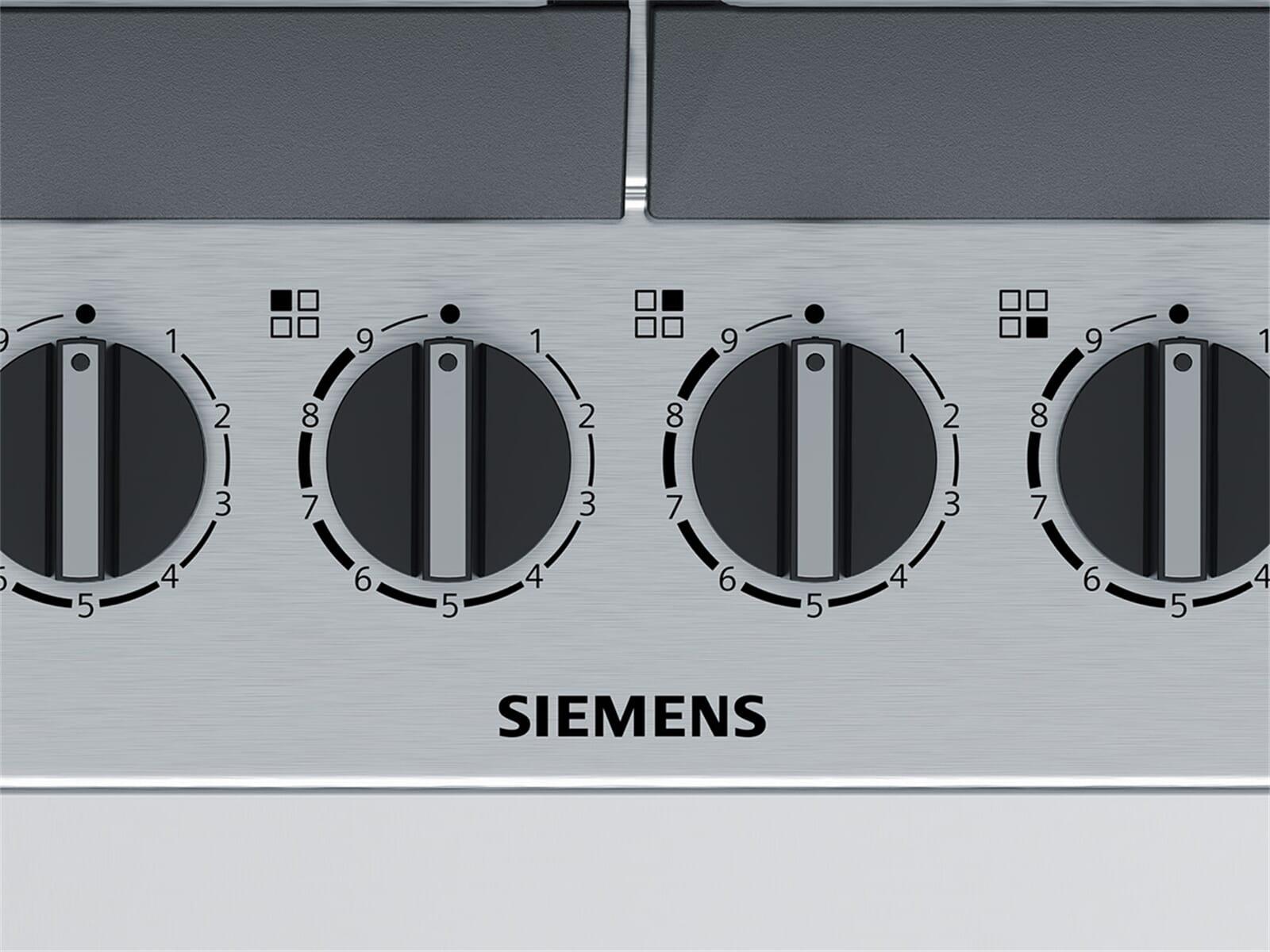 Siemens EC6A5HB90D Gaskochfeld Edelstahl autark