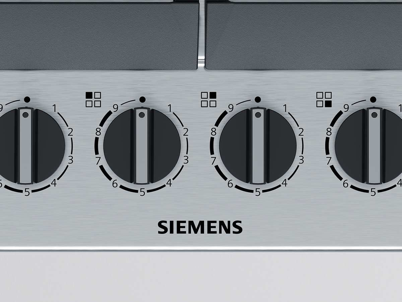 Siemens ec6a5hb90d gaskochfeld edelstahl autark for Siemens gaskochfeld