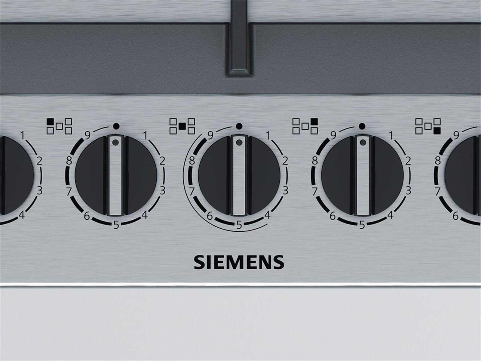 Siemens EC9A5RB90D Gaskochfeld Edelstahl autark