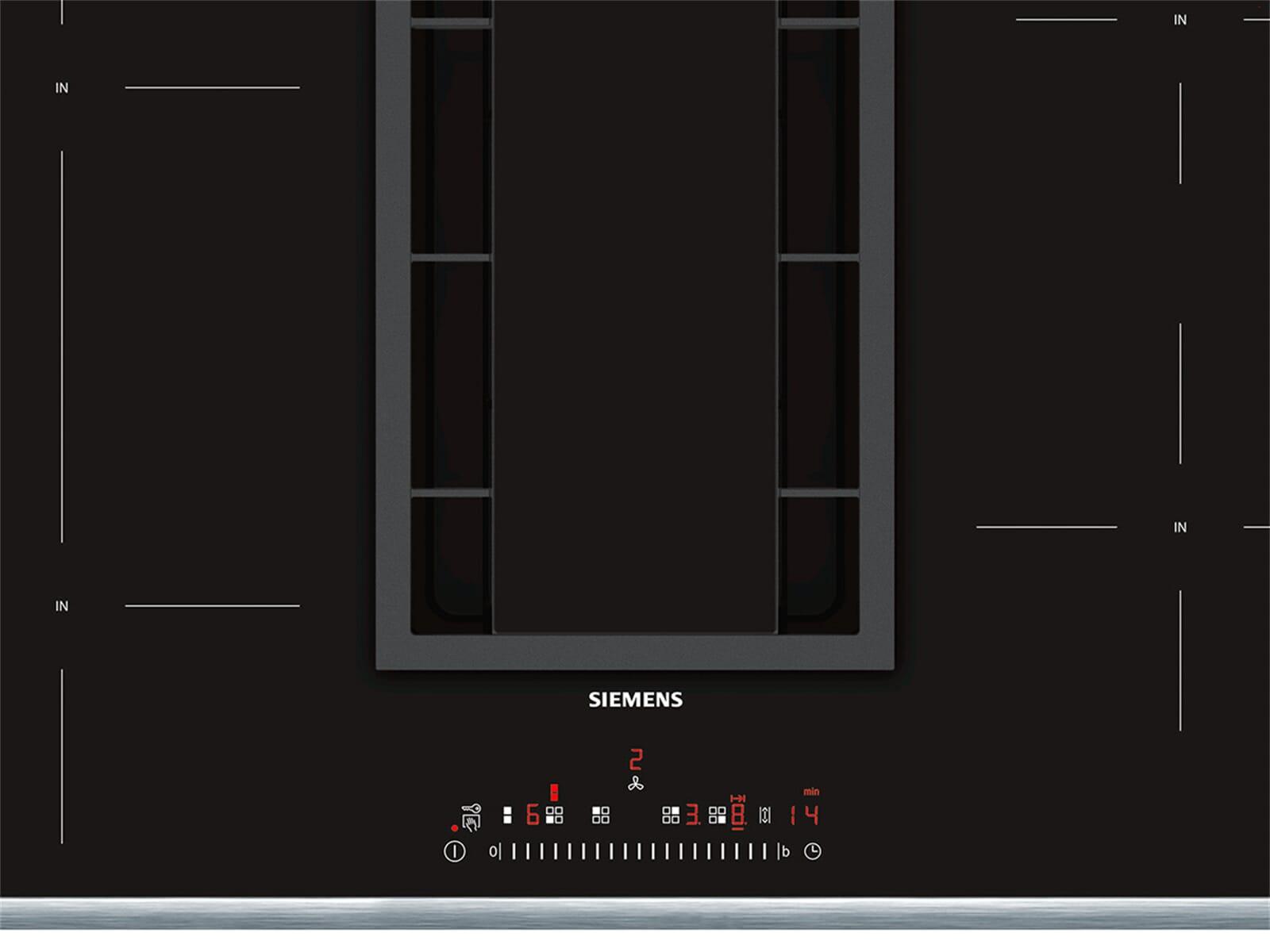 Siemens ed845fs11e induktionskochfeld dunstabzug kombination