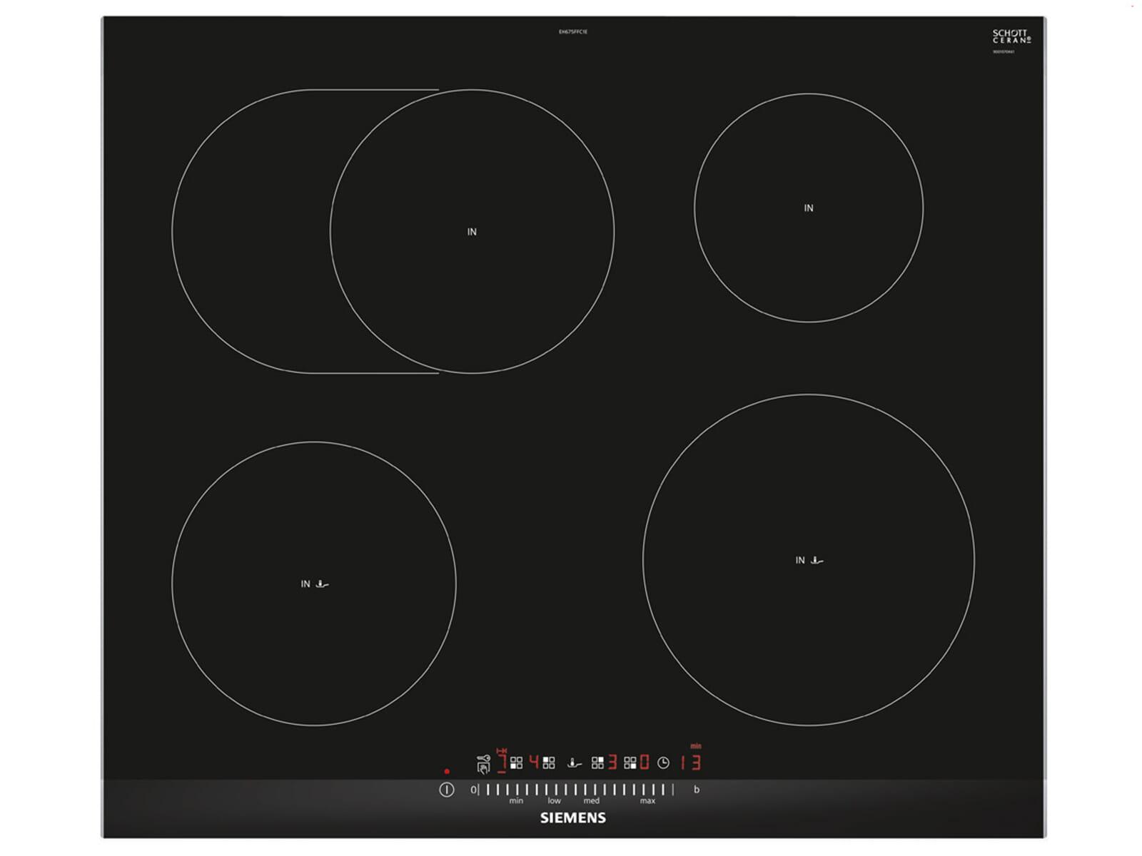 siemens eh675ffc1e induktionskochfeld autark. Black Bedroom Furniture Sets. Home Design Ideas