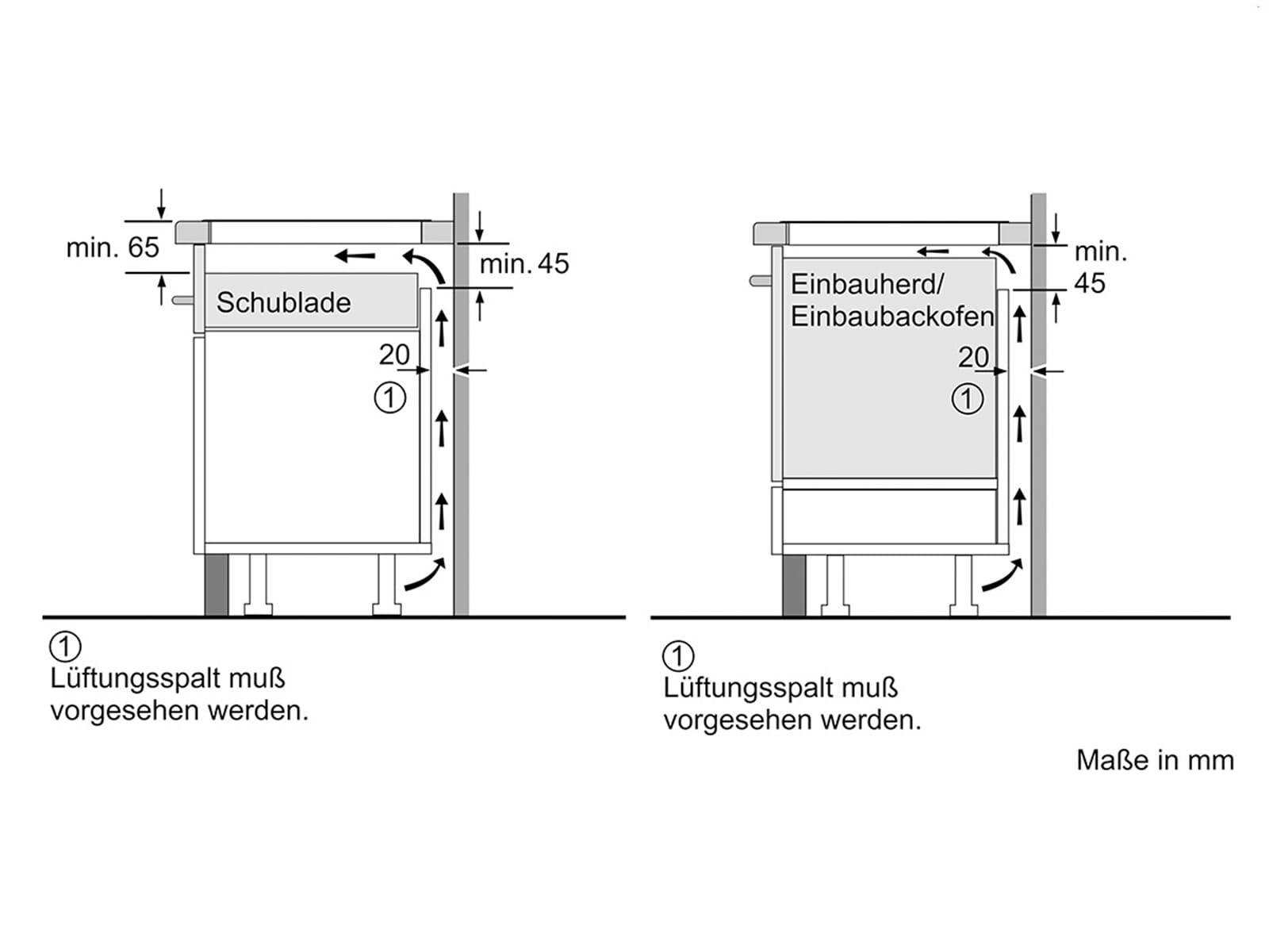 Siemens EH875LEC1E Induktionskochfeld autark