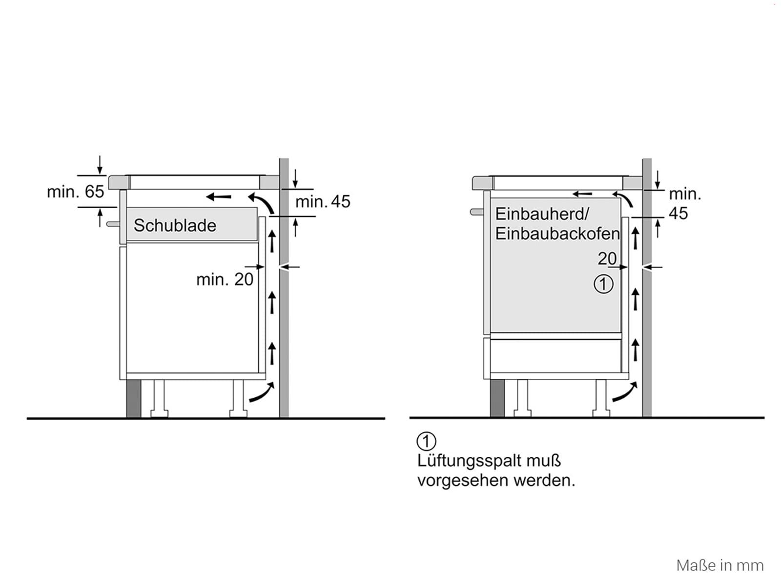 Siemens ex675jyw1e induktionskochfeld autark for Induktionskochfeld autark
