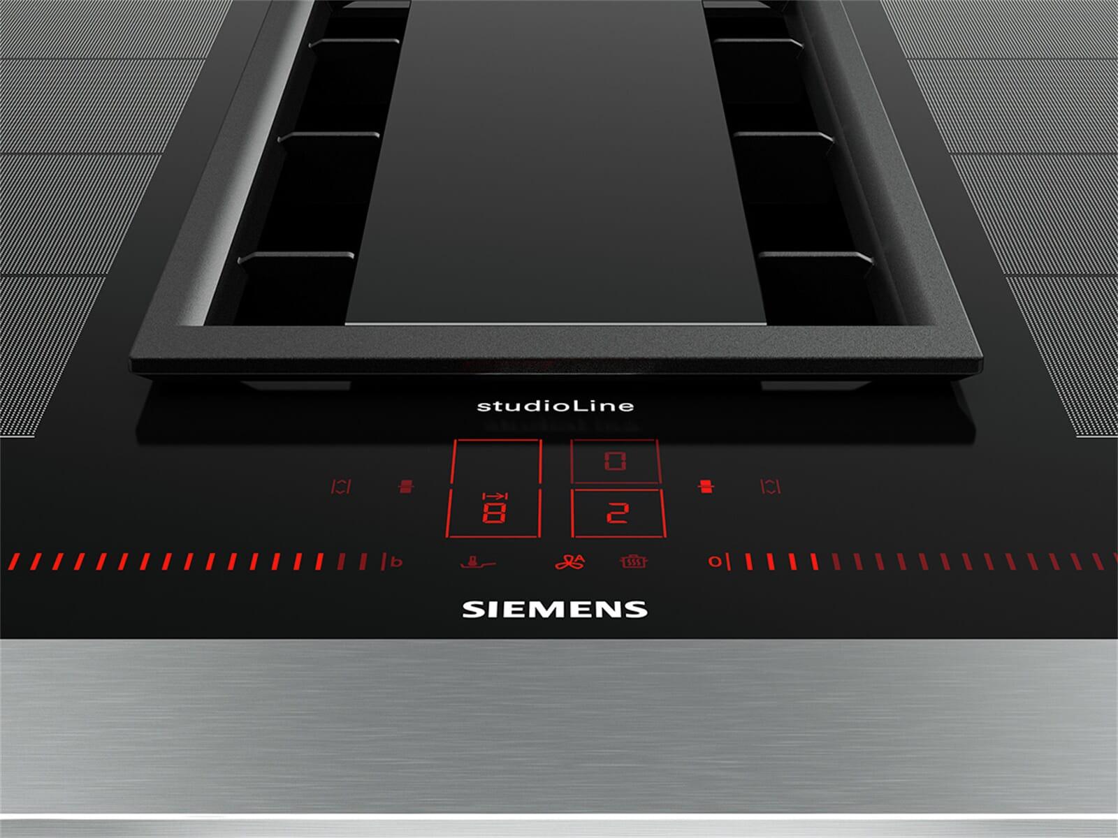 Siemens studioline ex lx e induktionskochfeld dunstabzug