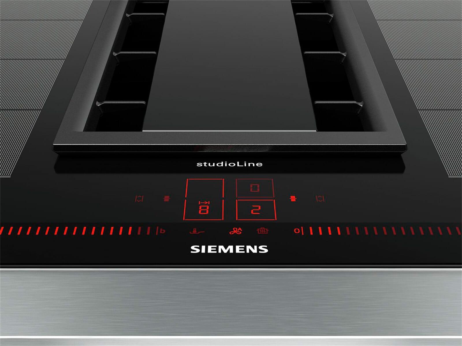 Siemens studioline ex877lx33e induktionskochfeld dunstabzug kombination