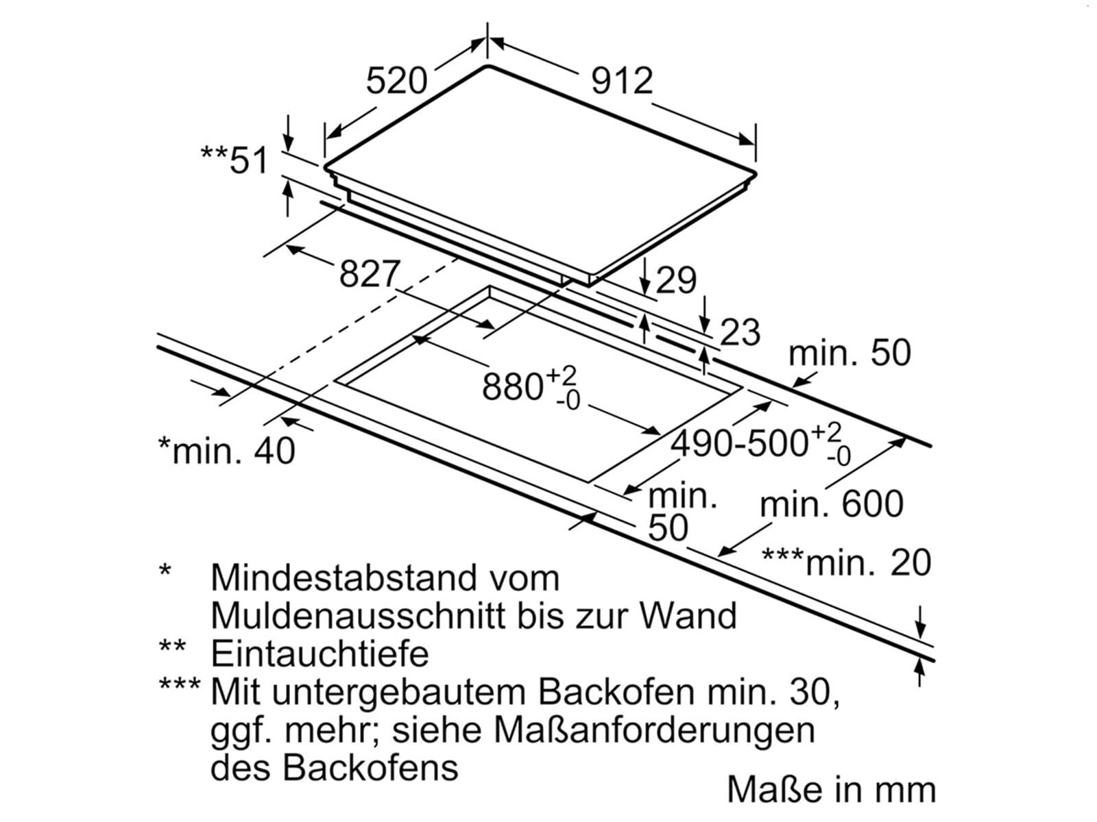 Siemens HB674GBS1 Pyrolyse Backofen Edelstahl + EX975LVV1E Induktionskochfeld