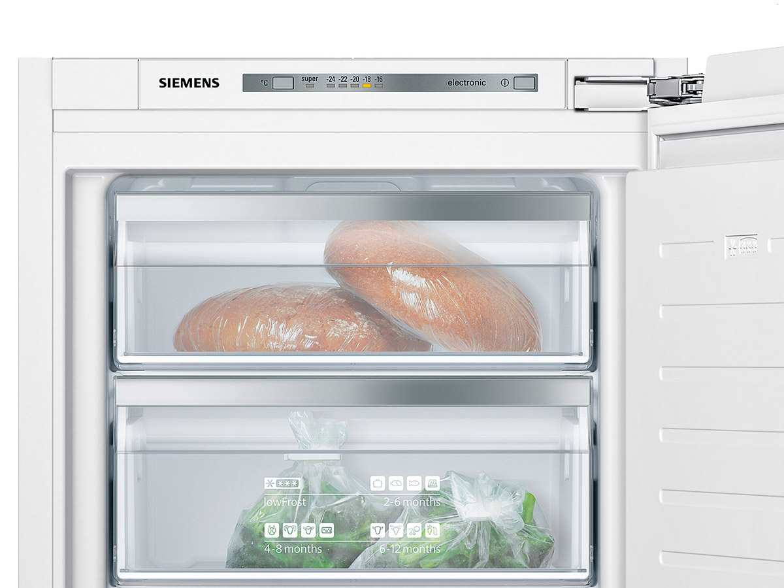 siemens kx41fv110 einbau-kühl-gefrierschrank-set ki41fad30 + gi11vad30 - Einbau Küchengeräte Set