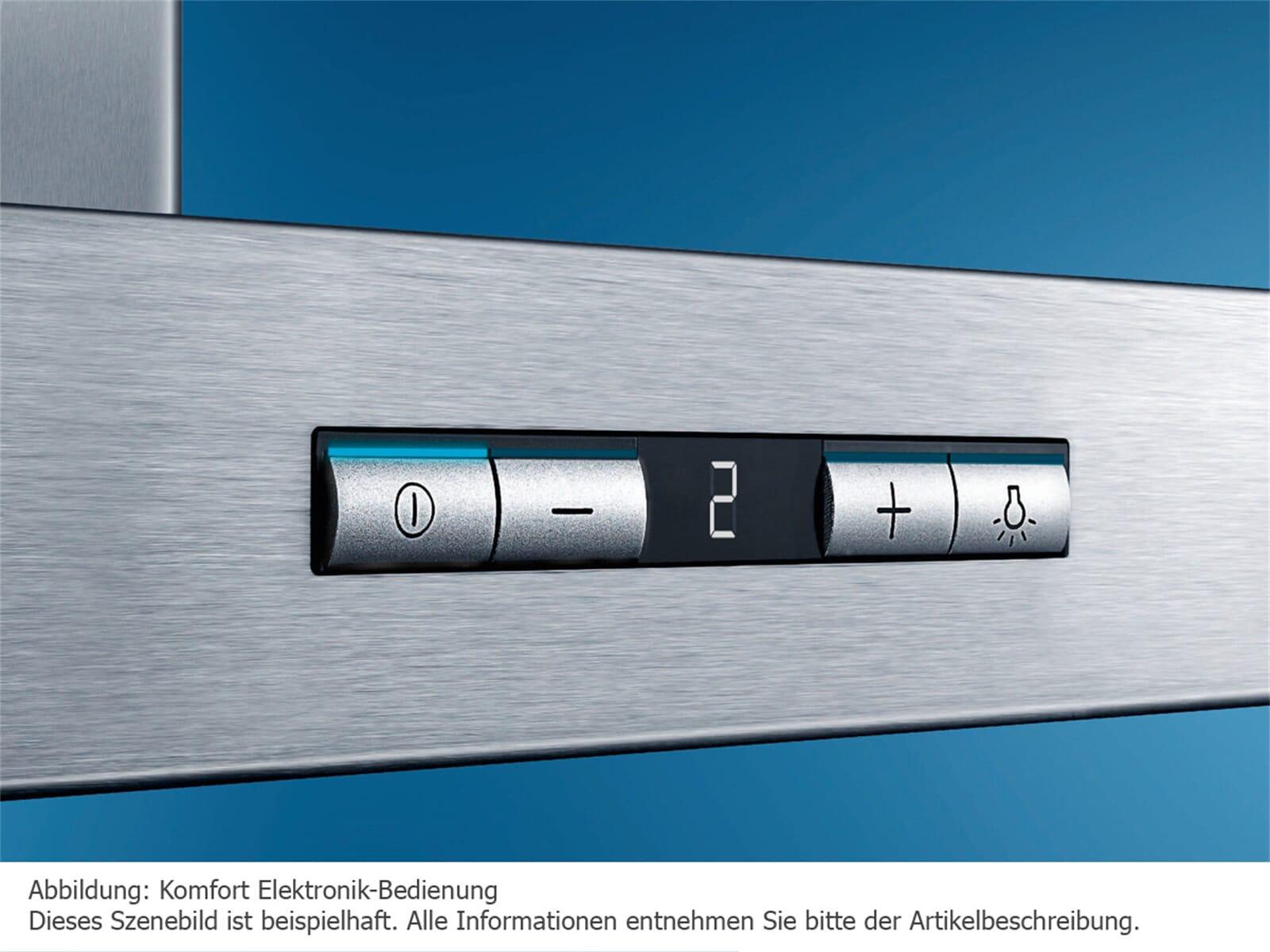 Siemens li ra flachschirmhaube edelstahl
