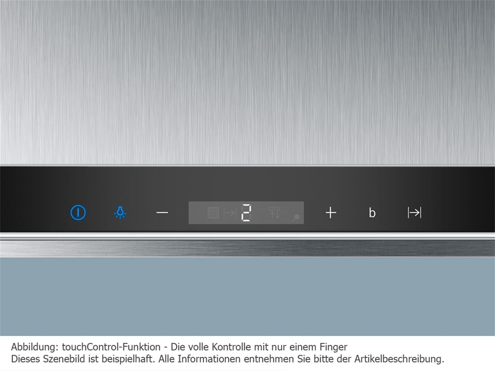 Siemens li67sa670 flachschirmhaube edelstahl schwarz