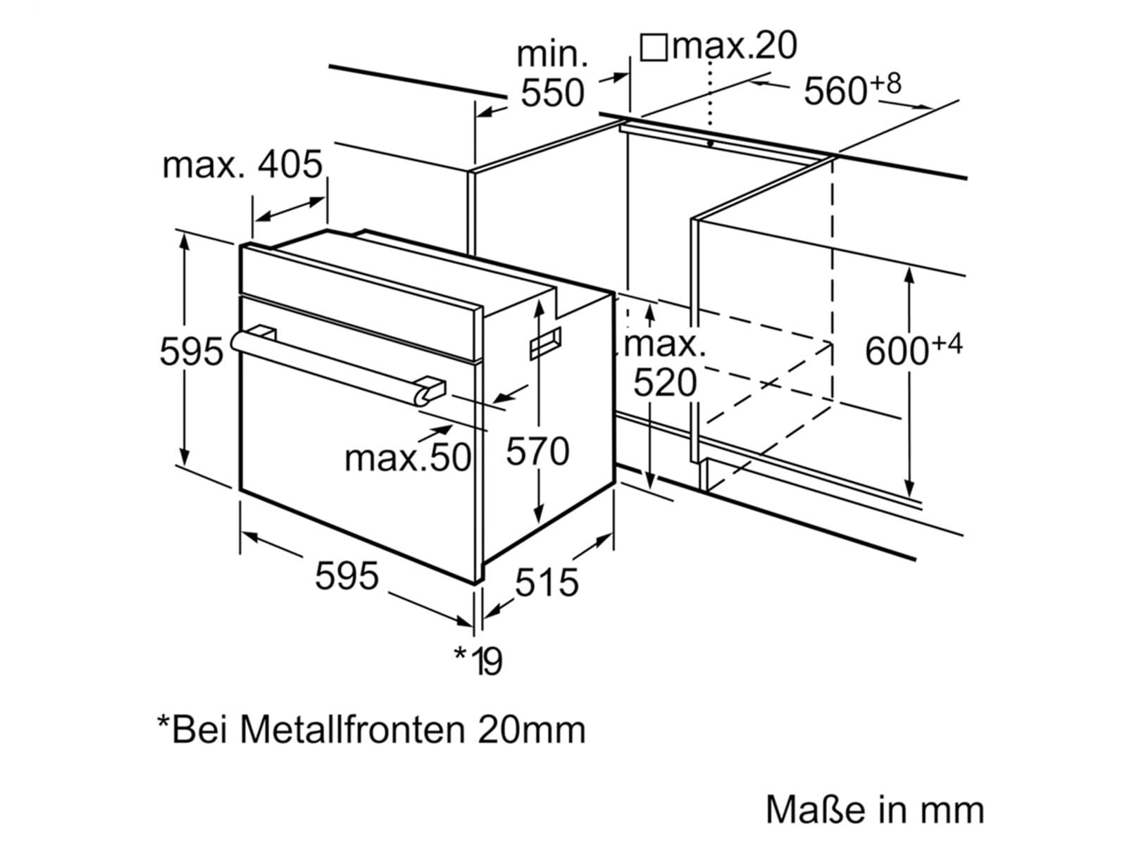 Siemens Hb64ab555f Backofen Moebelplus