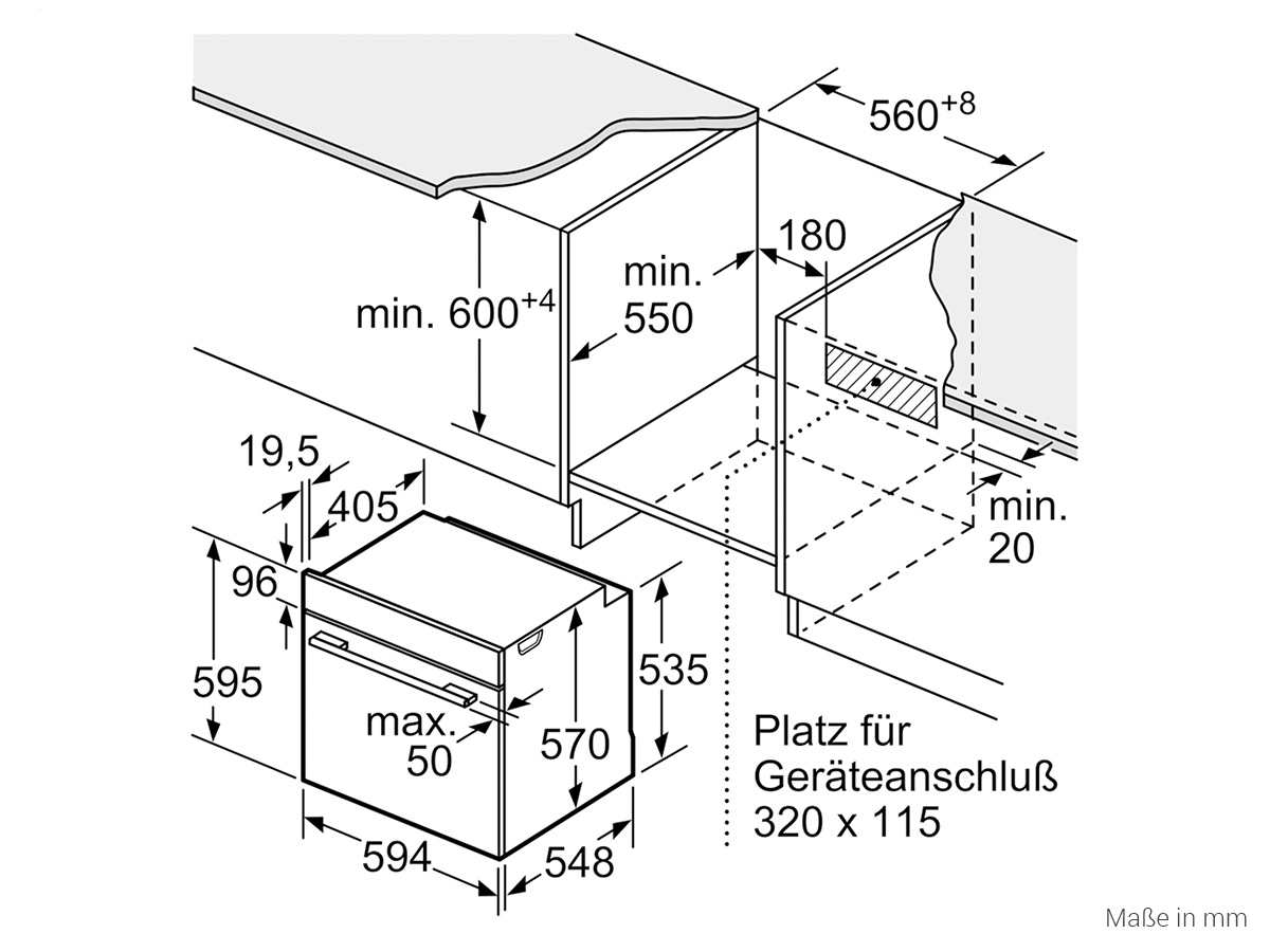 Siemens EQ521KA00W Set Einbauherd HE517ABW0 + Glaskeramikkochfeld EA645GN17