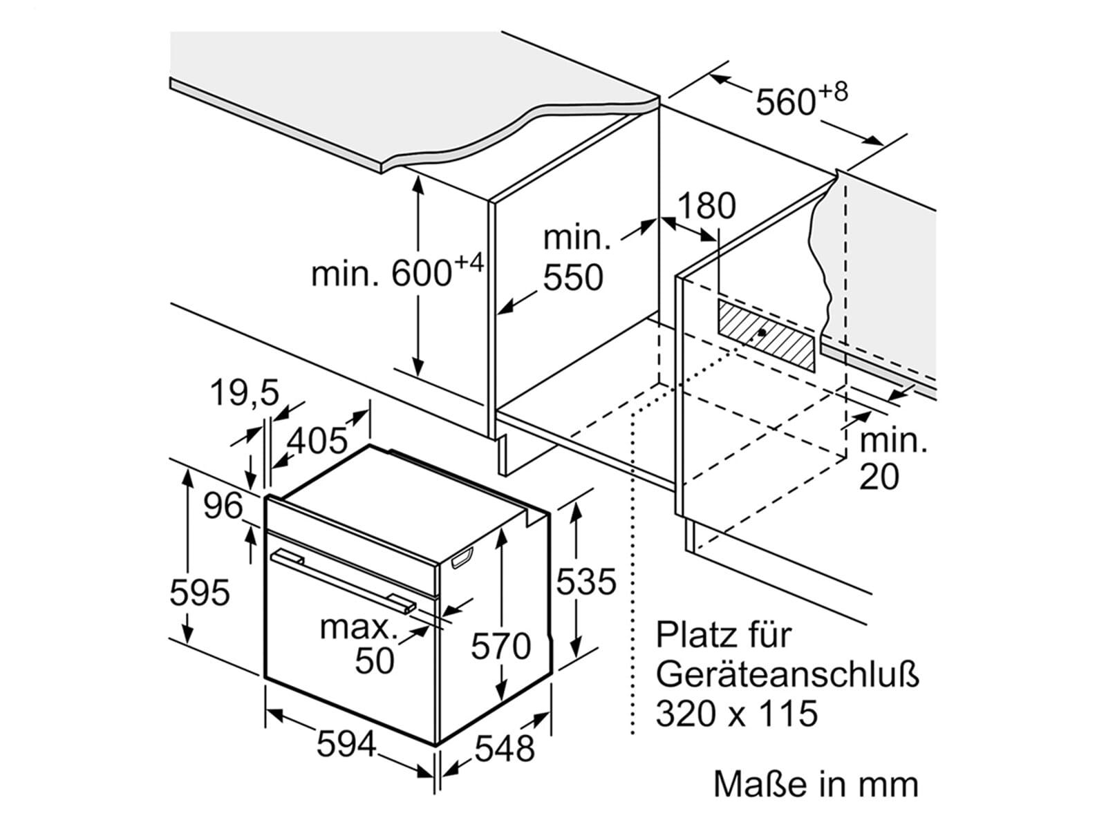 Siemens PQ521KB00 Set Einbauherd HE578BBS0 + Glaskeramikkochfeld EA645GN17