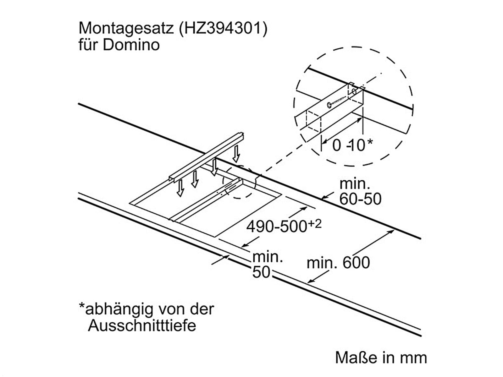 Siemens HZ394301 Verbindungsleiste