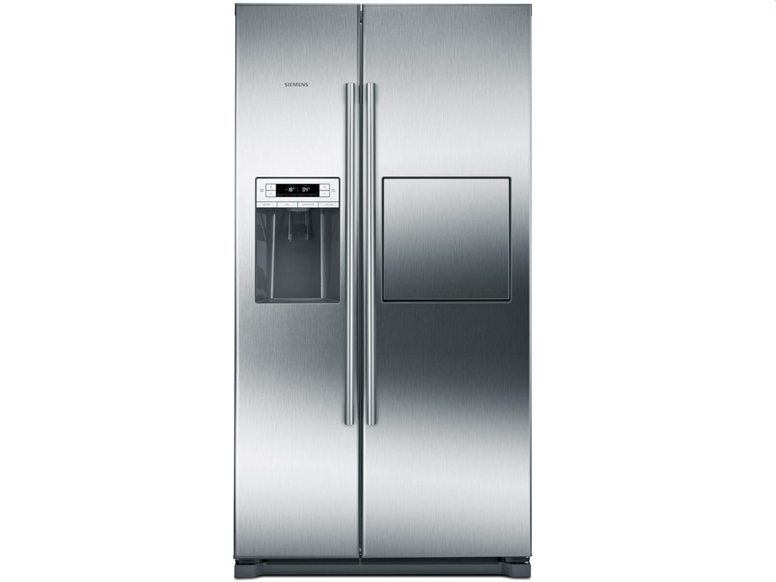Siemens Kühlschrank Wasserfilter : Siemens ka gai side by side kühl gefrier kombination edelstahl