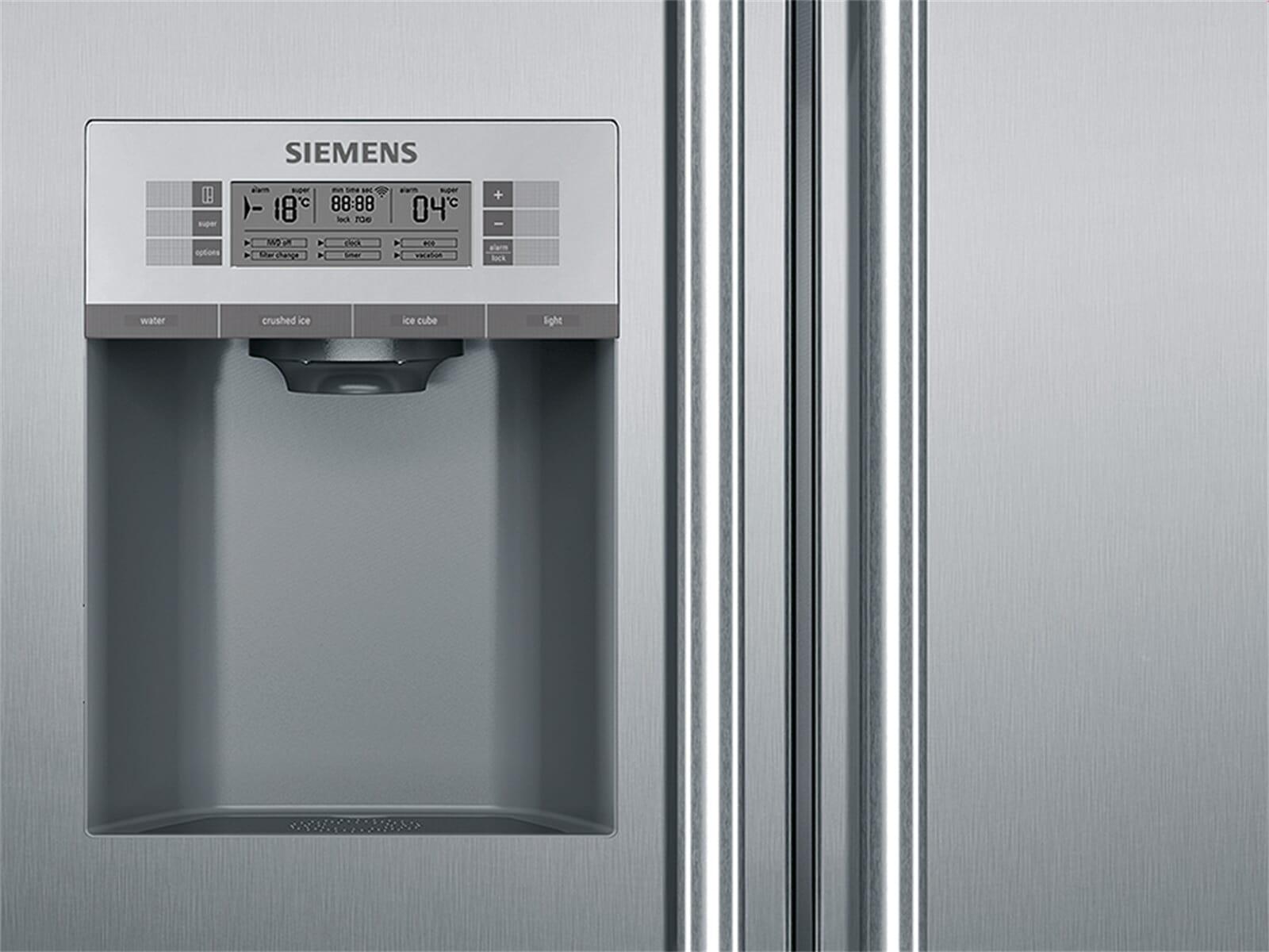 Siemens Kühlschrank Unterschiede : Siemens ka92dai30 side by side kühl gefrier kombination edelstahl