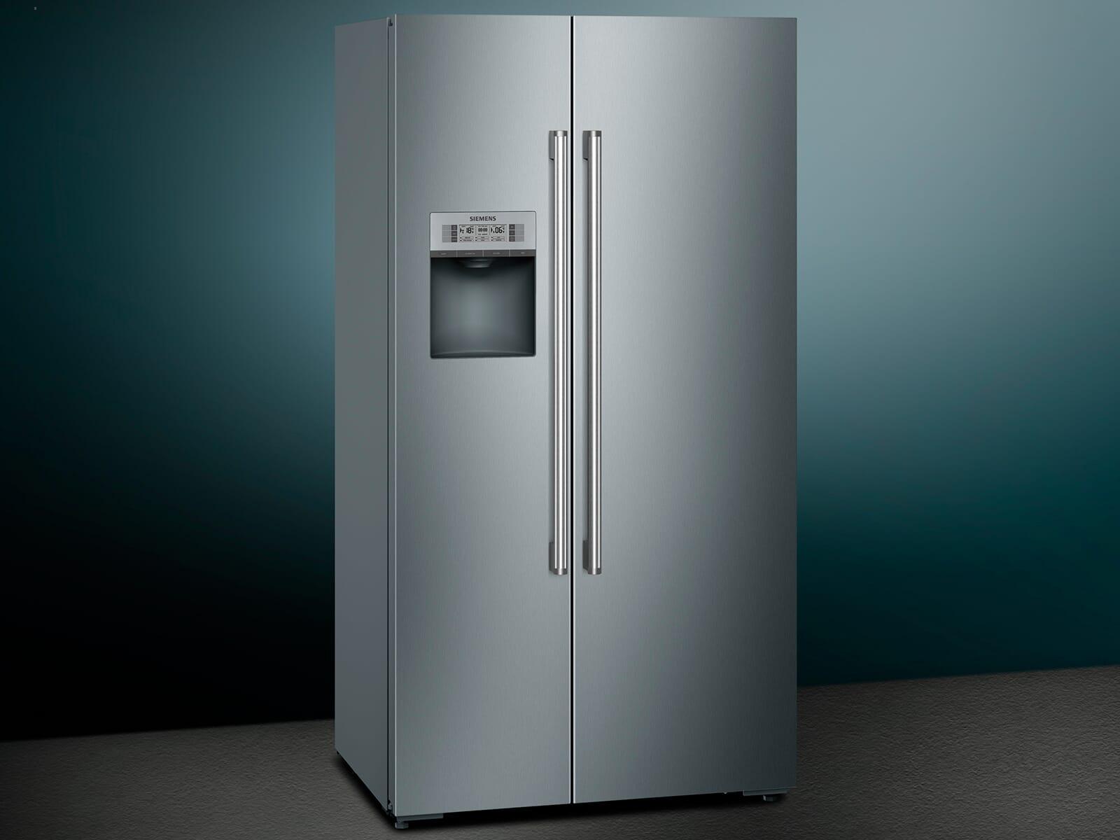 Siemens Kühlschrank Edelstahl : Siemens ka92dhi31 side by side kühl gefrierkombination edelstahl