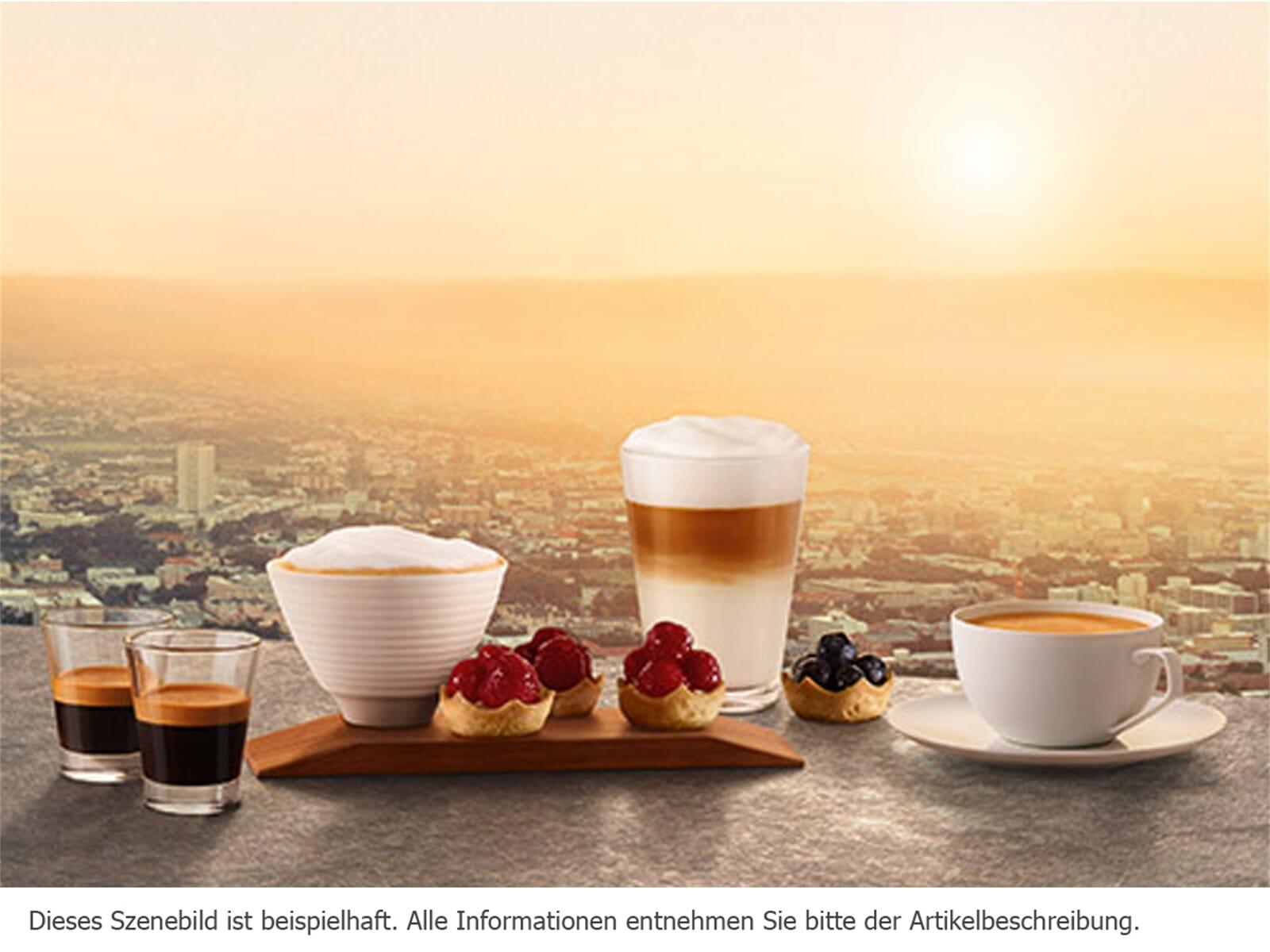 Siemens studioLine CT836LEB6 Einbau-Kaffeevollautomat blackSteel
