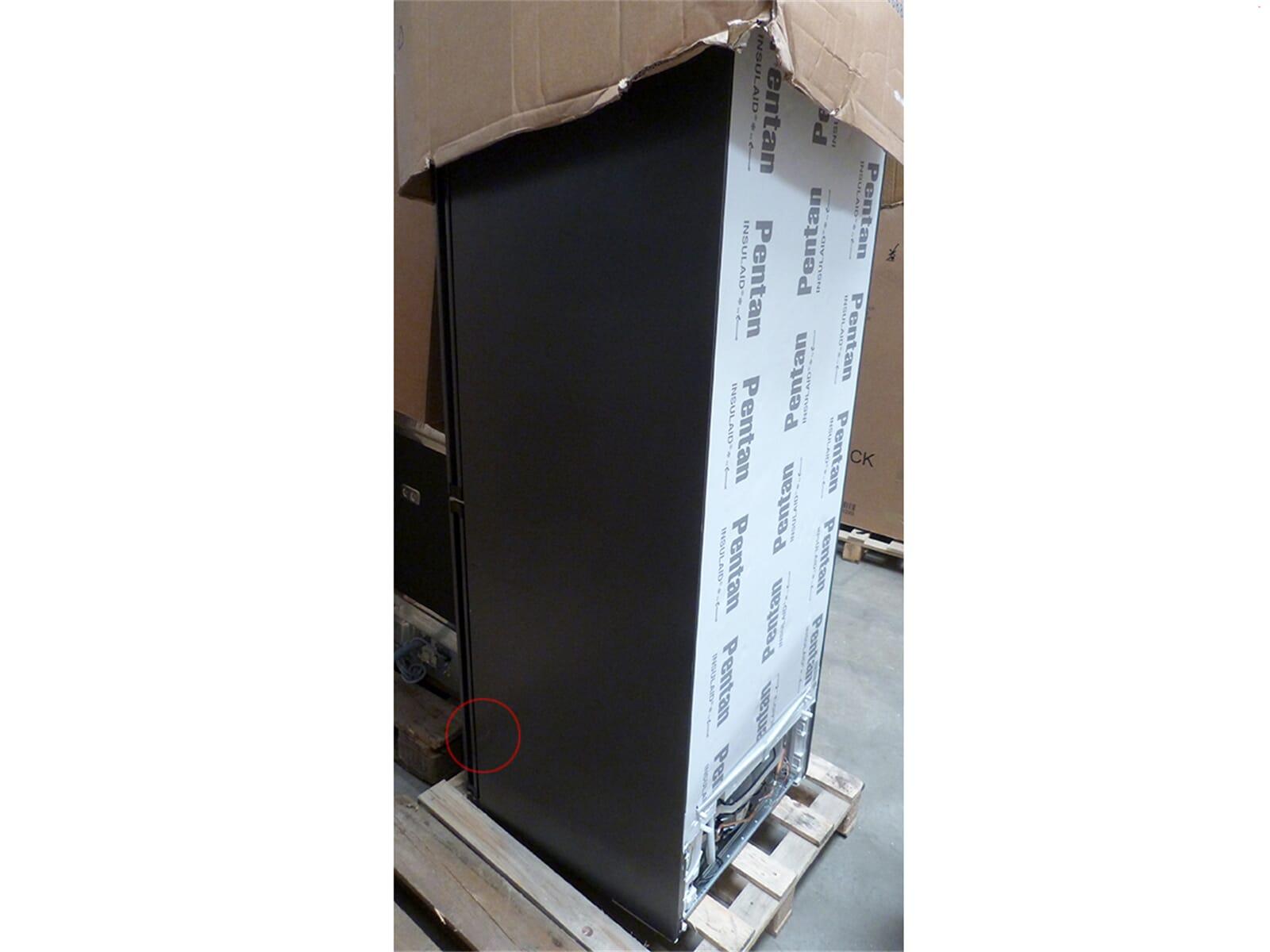 Siemens KG39FPB45 Kühl-Gefrierkombination black inox - B-Ware