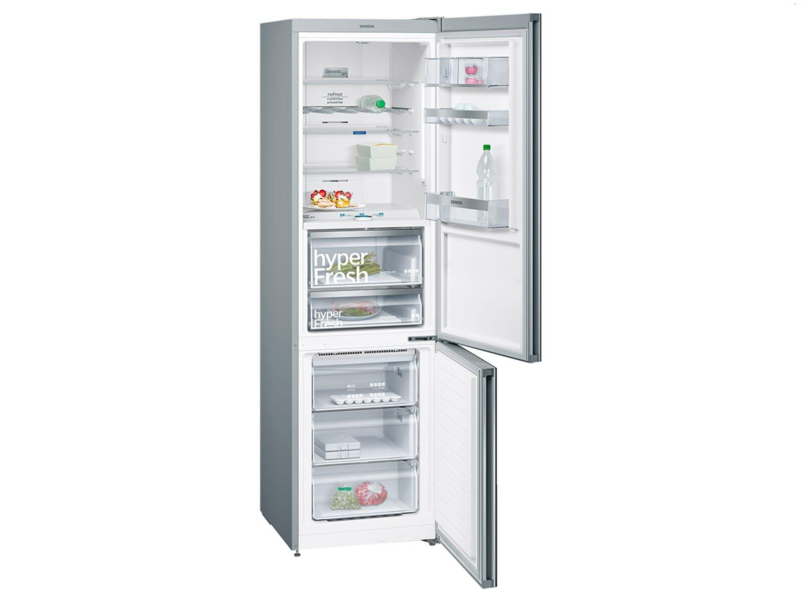 Siemens Kühlschrank Eiswürfelbereiter Bedienungsanleitung : Siemens kg fsb kühl gefrierkombination schwarz