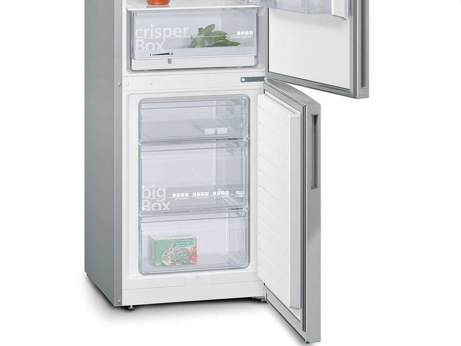 Siemens Kühlschrank Silber : Siemens kg vvl kühl gefrierkombination edelstahl look