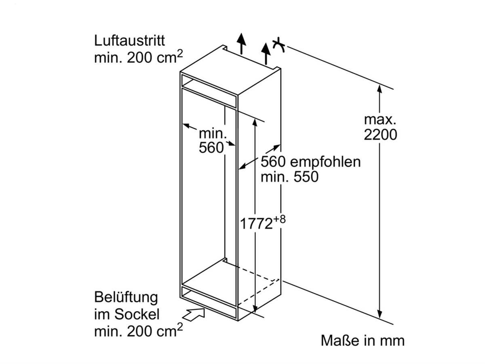 siemens ki84fpd40 einbau k hl gefrierkombination. Black Bedroom Furniture Sets. Home Design Ideas