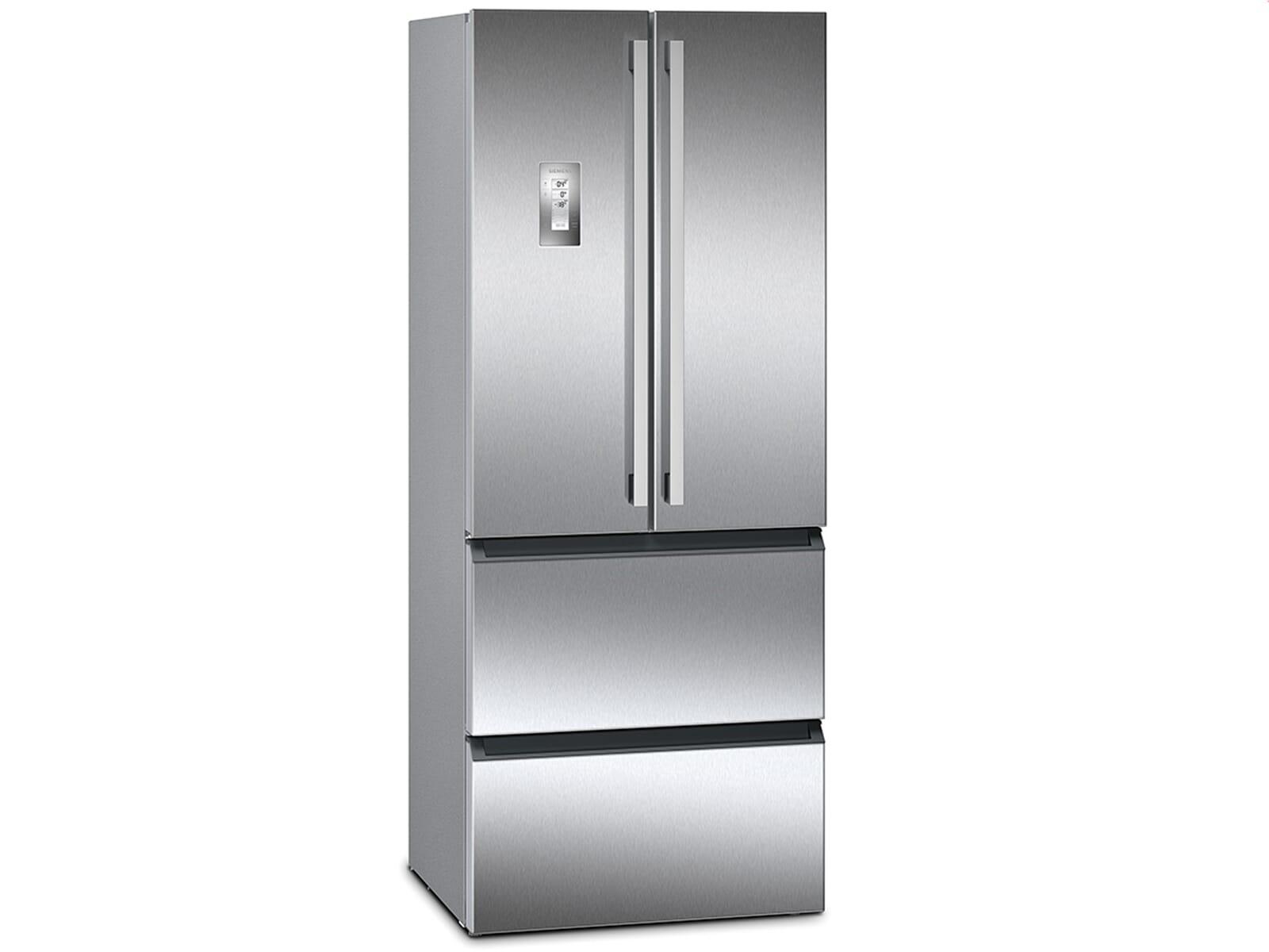 Siemens Kühlschrank Mit Wasserspender : Siemens km fai frenchdoor kühl gefrier kombination edelstahl türen
