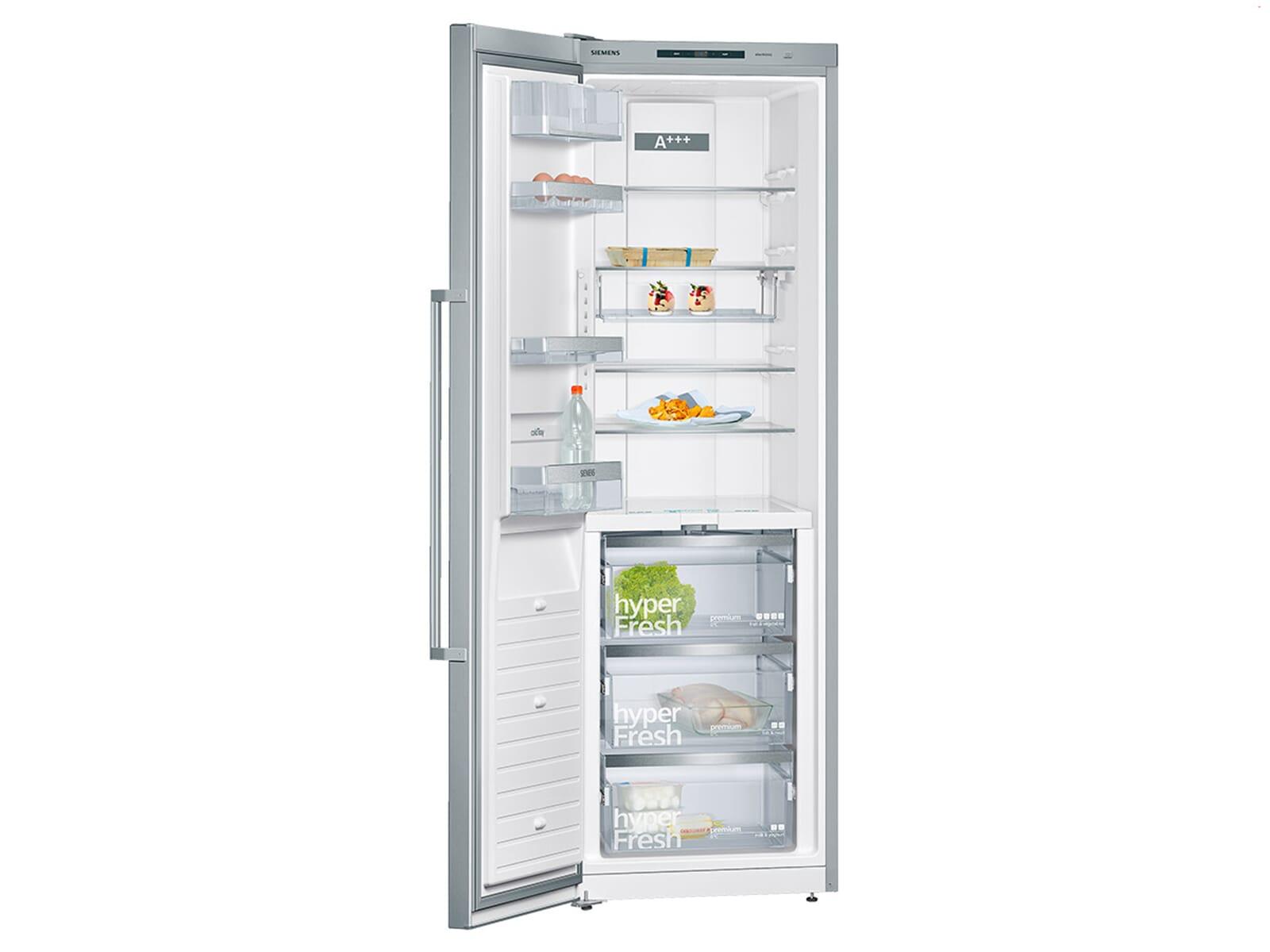 Siemens ks36fpi40 standkuhlschrank edelstahl for Siemens standkühlschrank