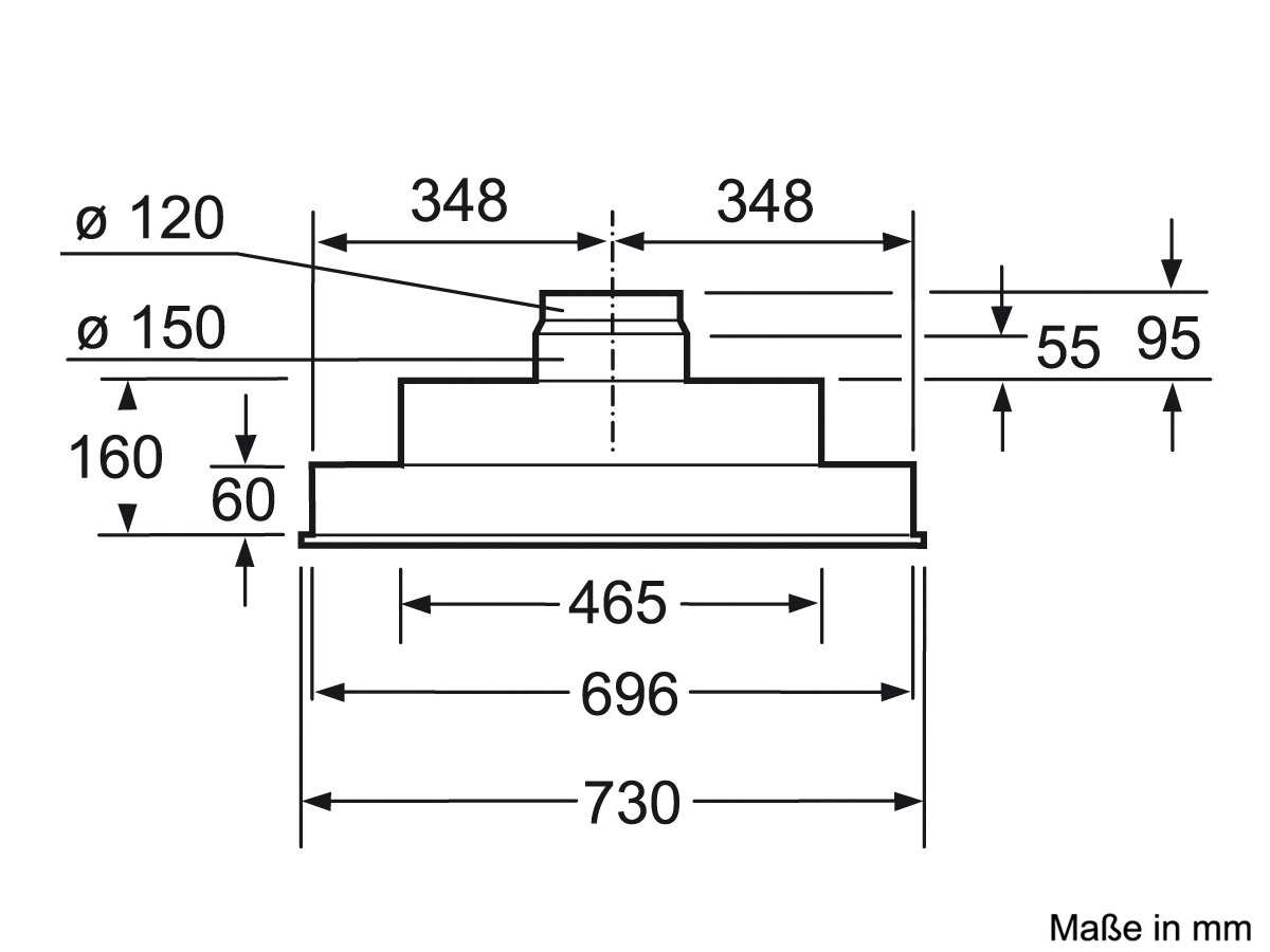 Siemens LB75564 Lüfterbaustein Silbermetallic